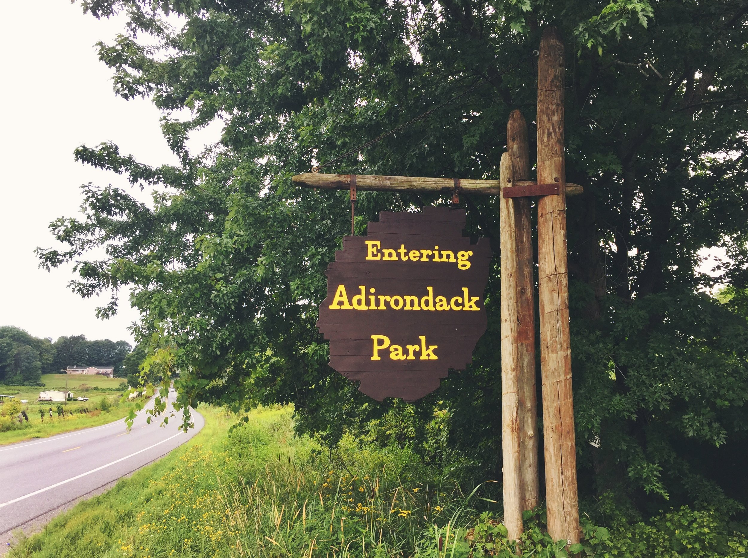 The NFCT begins from its western terminus in New York's 6 million acre Adirondack Park.
