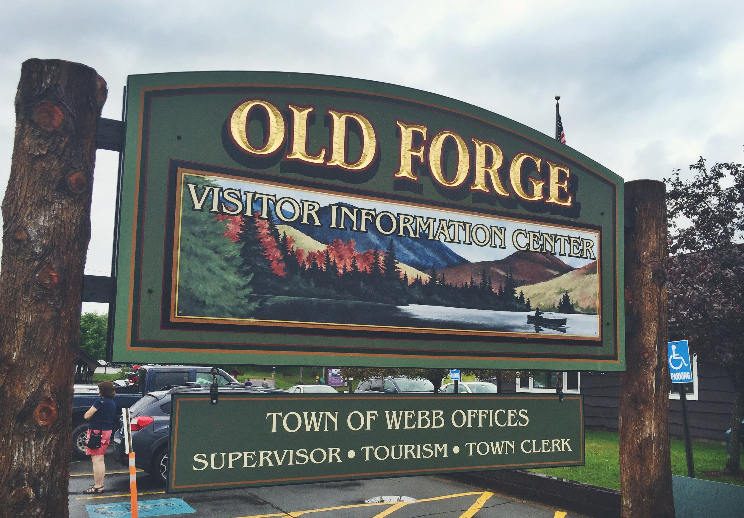 Old Forge New York marks the western terminus of the Northern Forest Canoe Trail.