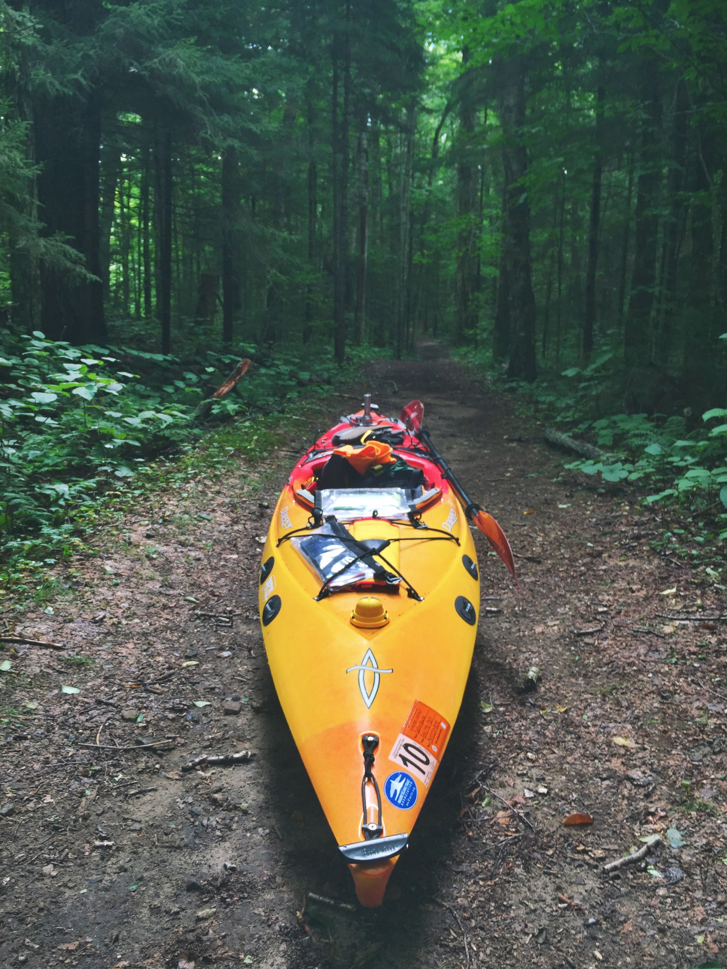 Kayak, the all terrain vehicle.