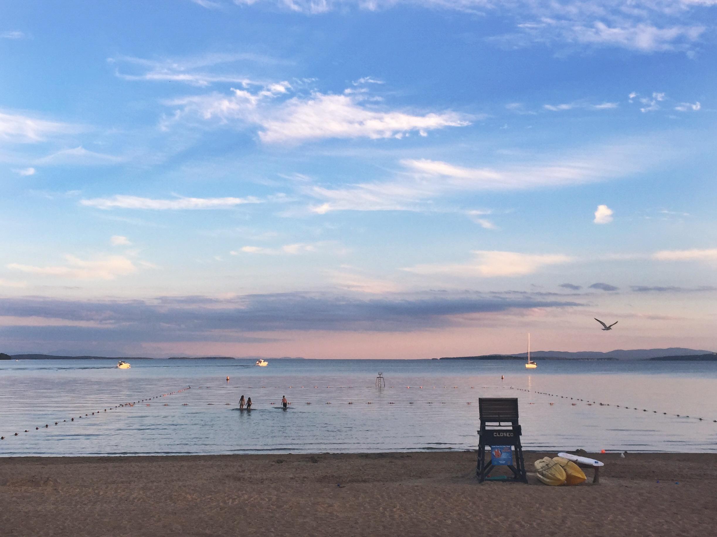 Goodnight Lake Champlain