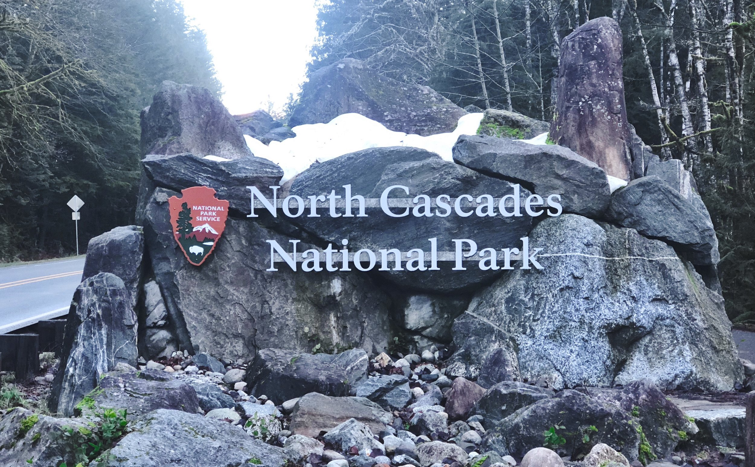 North Cascades Entrance Sign ©The Wild Outsiders 2019