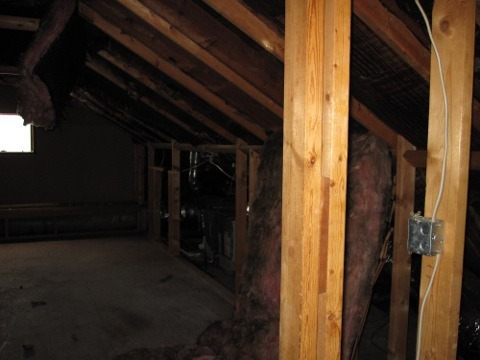 attic open