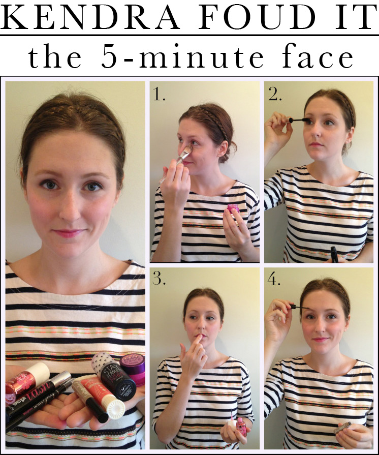 Makeup Tutorial The 5 Minute Face