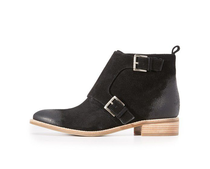 Such a steal. These Michael Kors booties are 50% off and the tan ones are 70% off!
