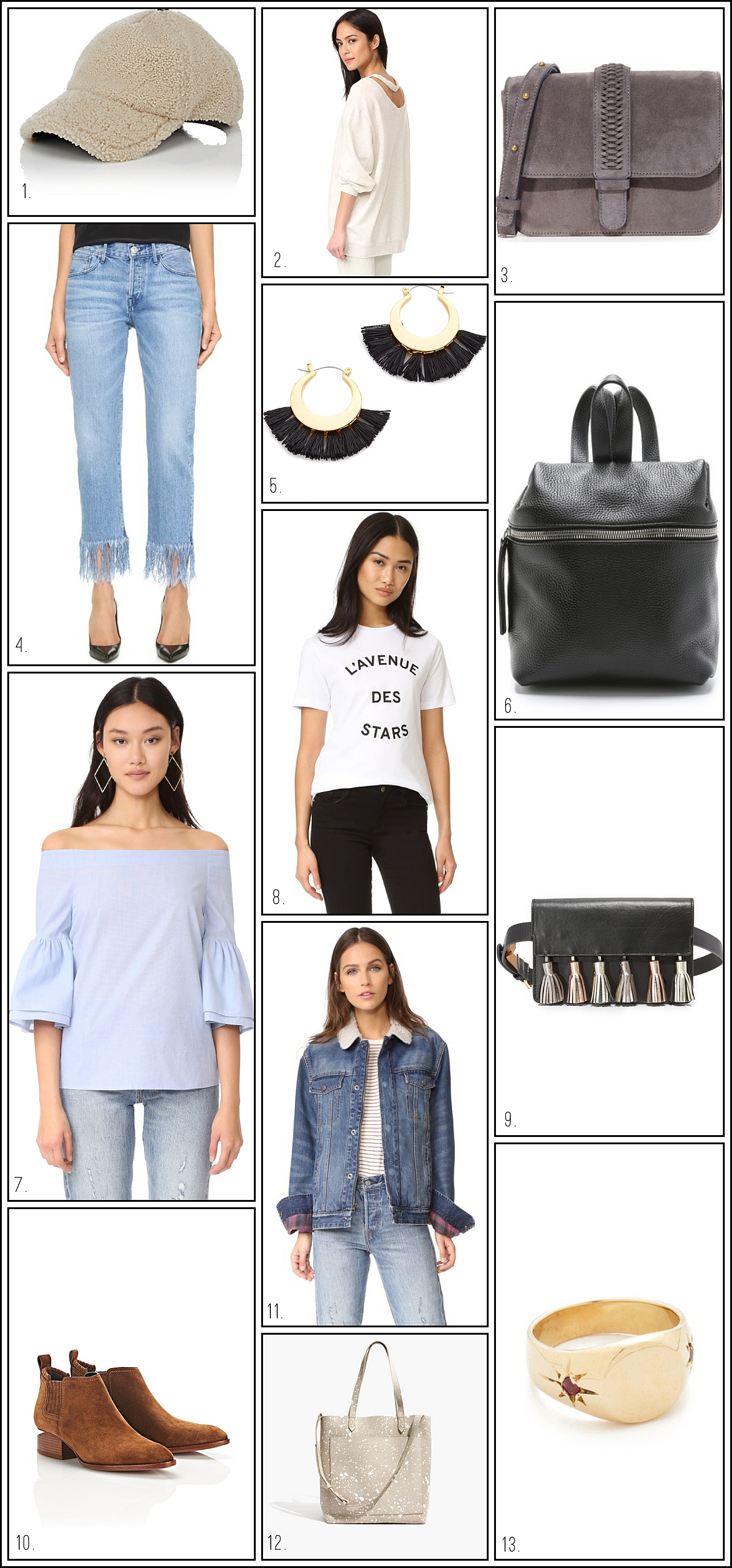Everything in this minimalist fashion roundup is currently on sale!!