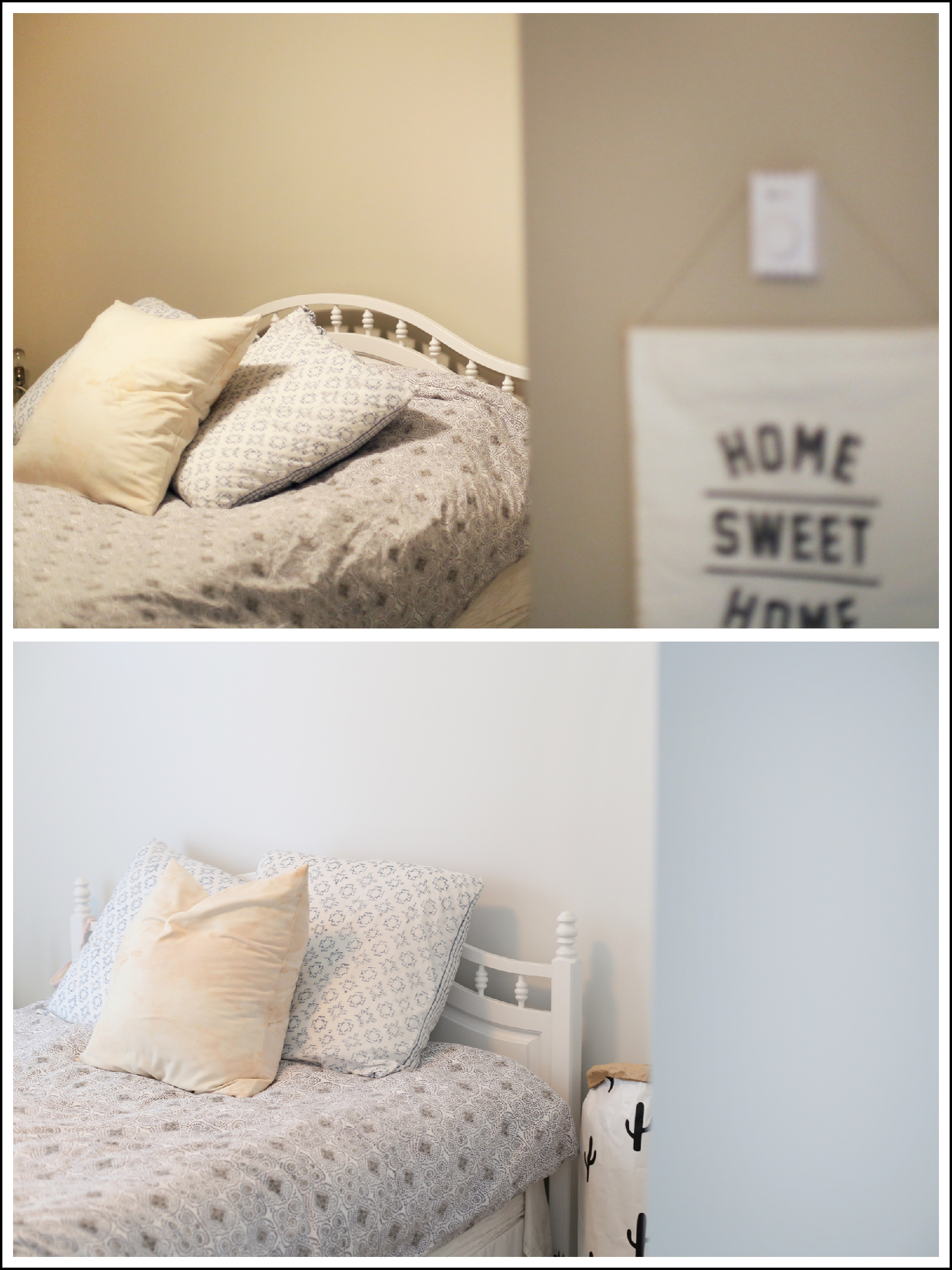 This transformation is insane! How to pick interior white paint.