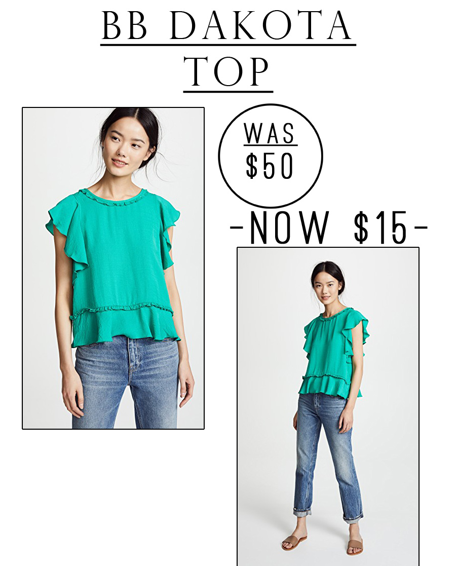 This BB By Dakota top is currently 70% off!