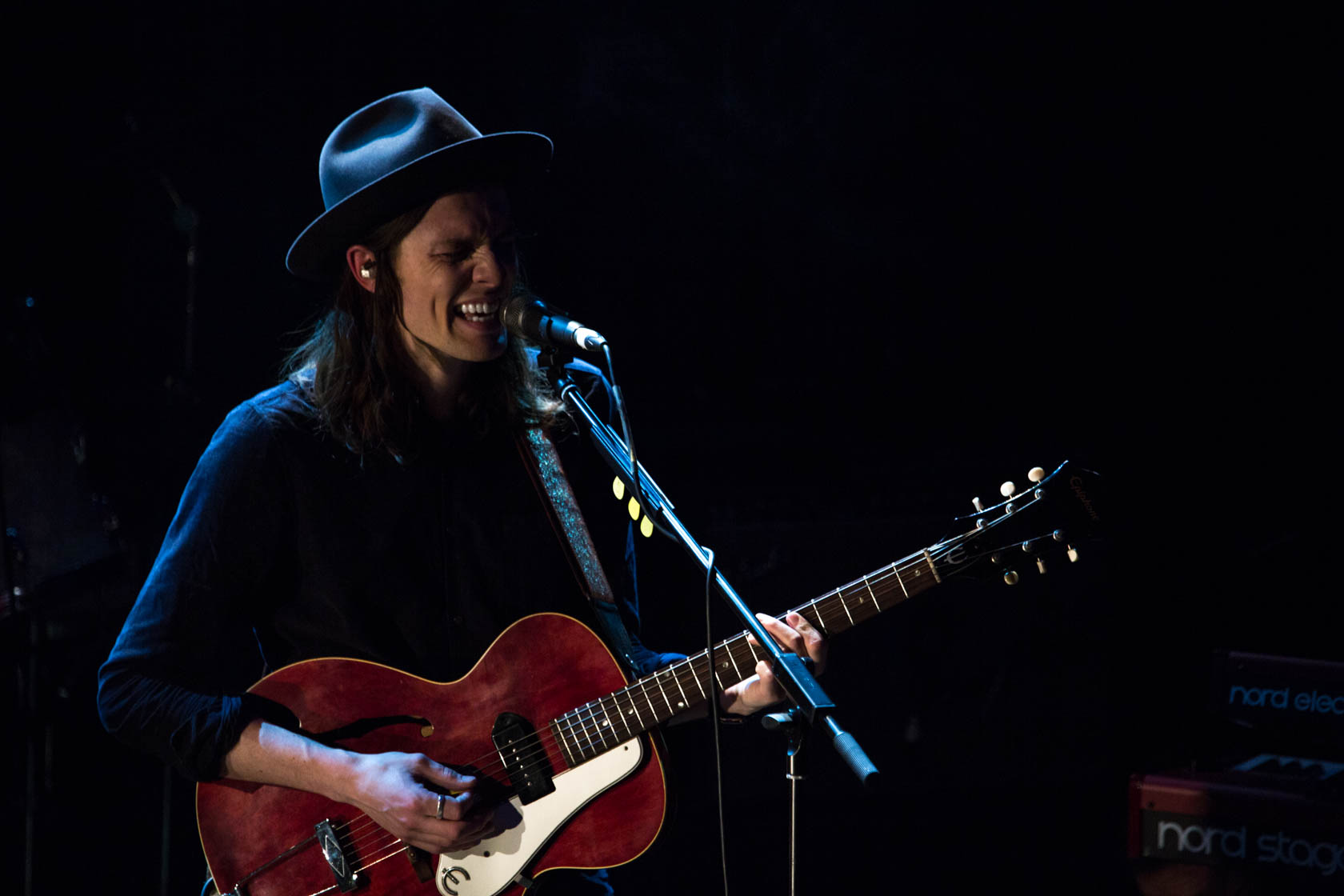 James Bay. MTV Brand New Showcase. London.