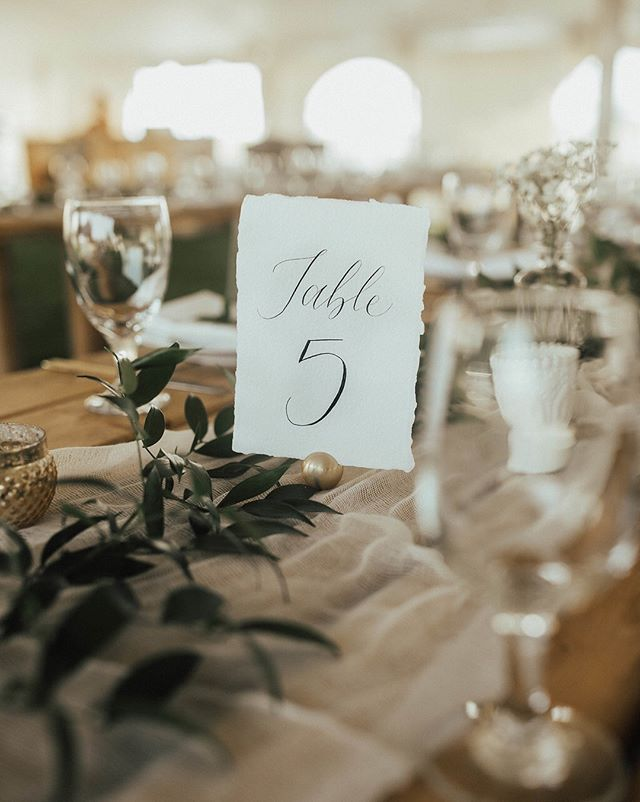 These table numbers from Jacob & Chantelle's wedding were featured on @theweddingco alongside work from an amazing team of vendors. Looking forward to all my 2018 collaborations! . Event design: @allthatjazweddings  Photography: @abbywhitephotography Table numbers: @scarletandalabaster