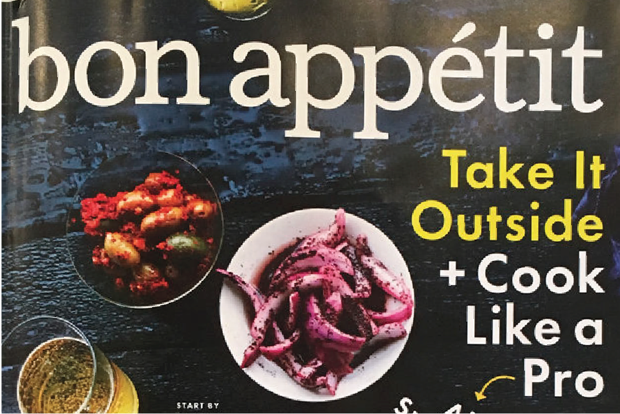 BON APPÉTIT  - JULY ISSUE 2017 A Day at the Beach