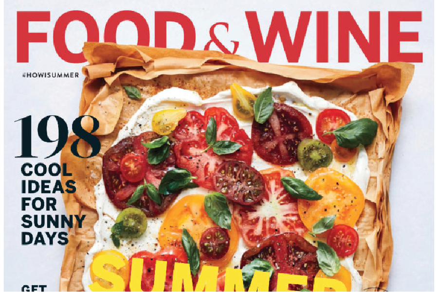 FOOD AND WINE AUGUST 2017 ISSUE  YES WE CAN