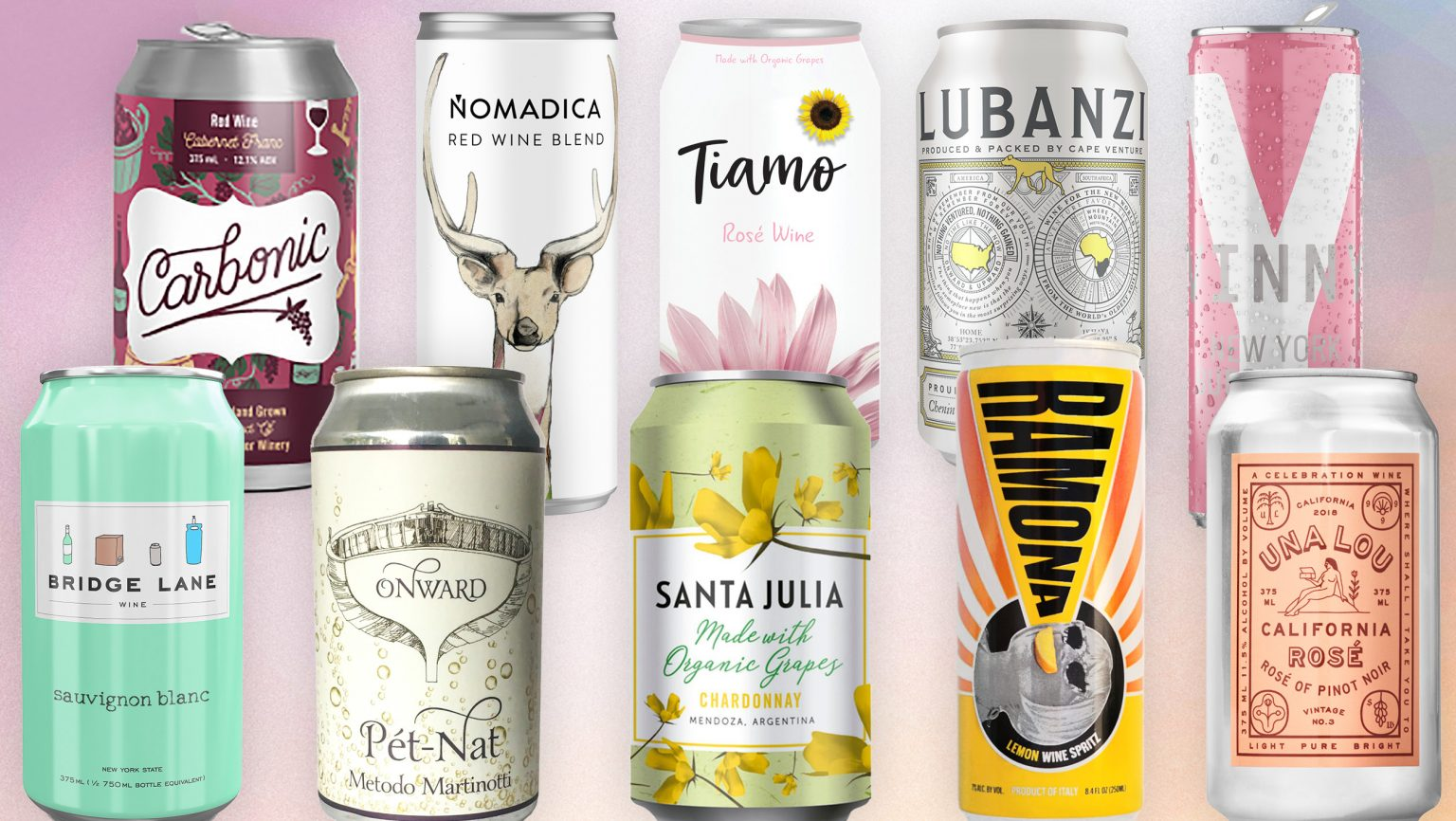 SEVENFIFTY DAILY  10 Canned Wines to Stock for Summer 2019