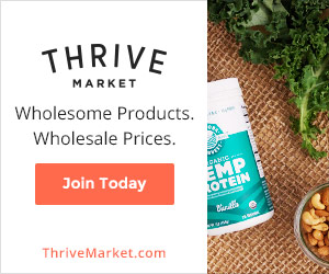 Thrive Market | Ashley Gotschall Nutrition