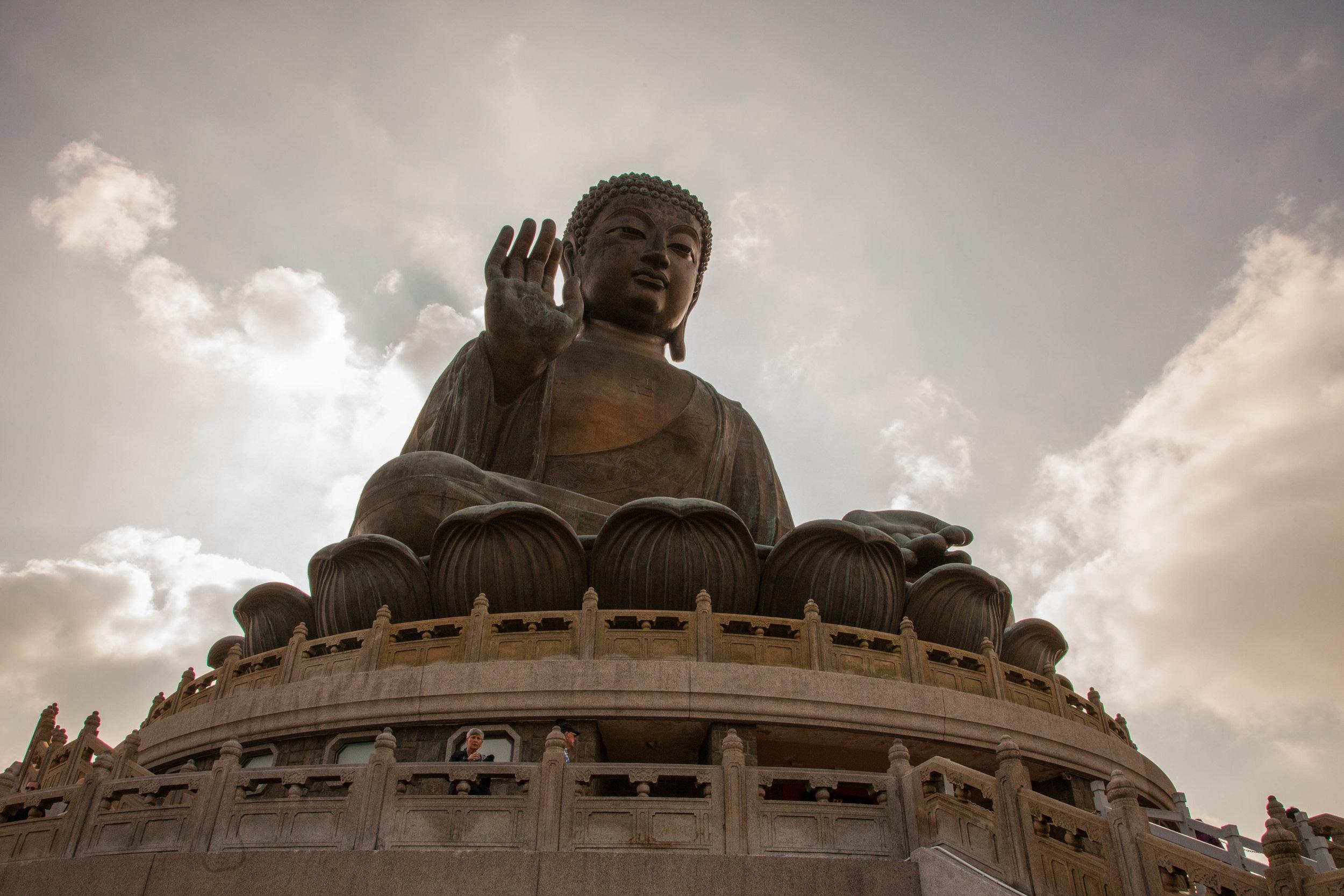 The Big Buddha up close.