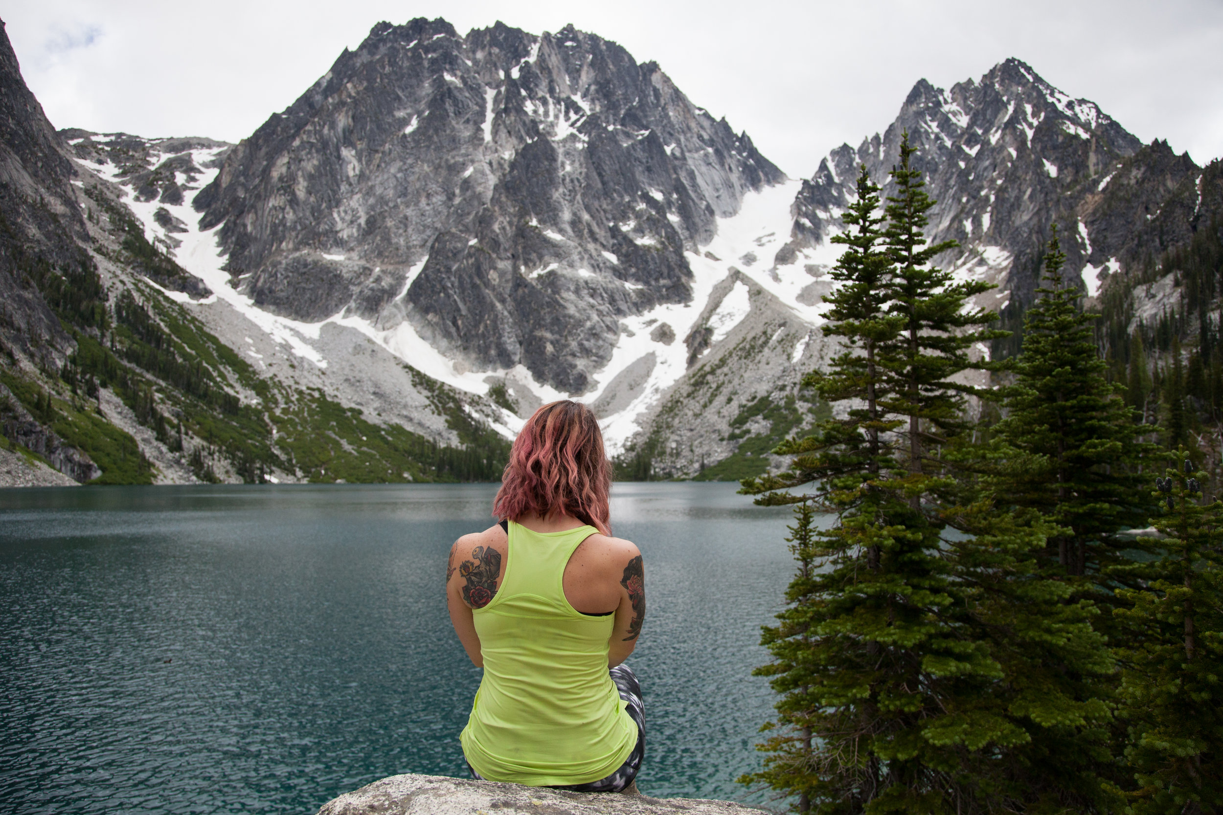 Colchuck lake was another favorite, even if Brian was miserable for most of the hike.