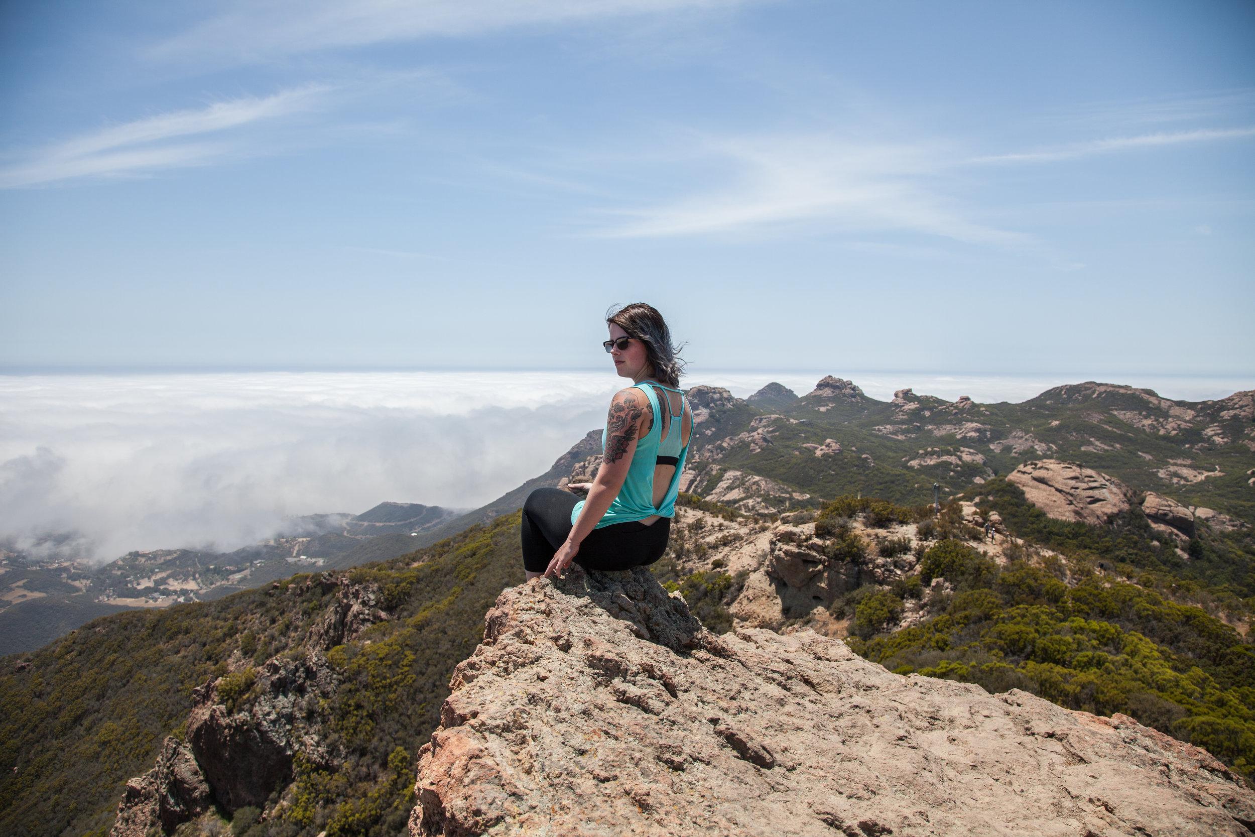 Sandstone Peak in LA