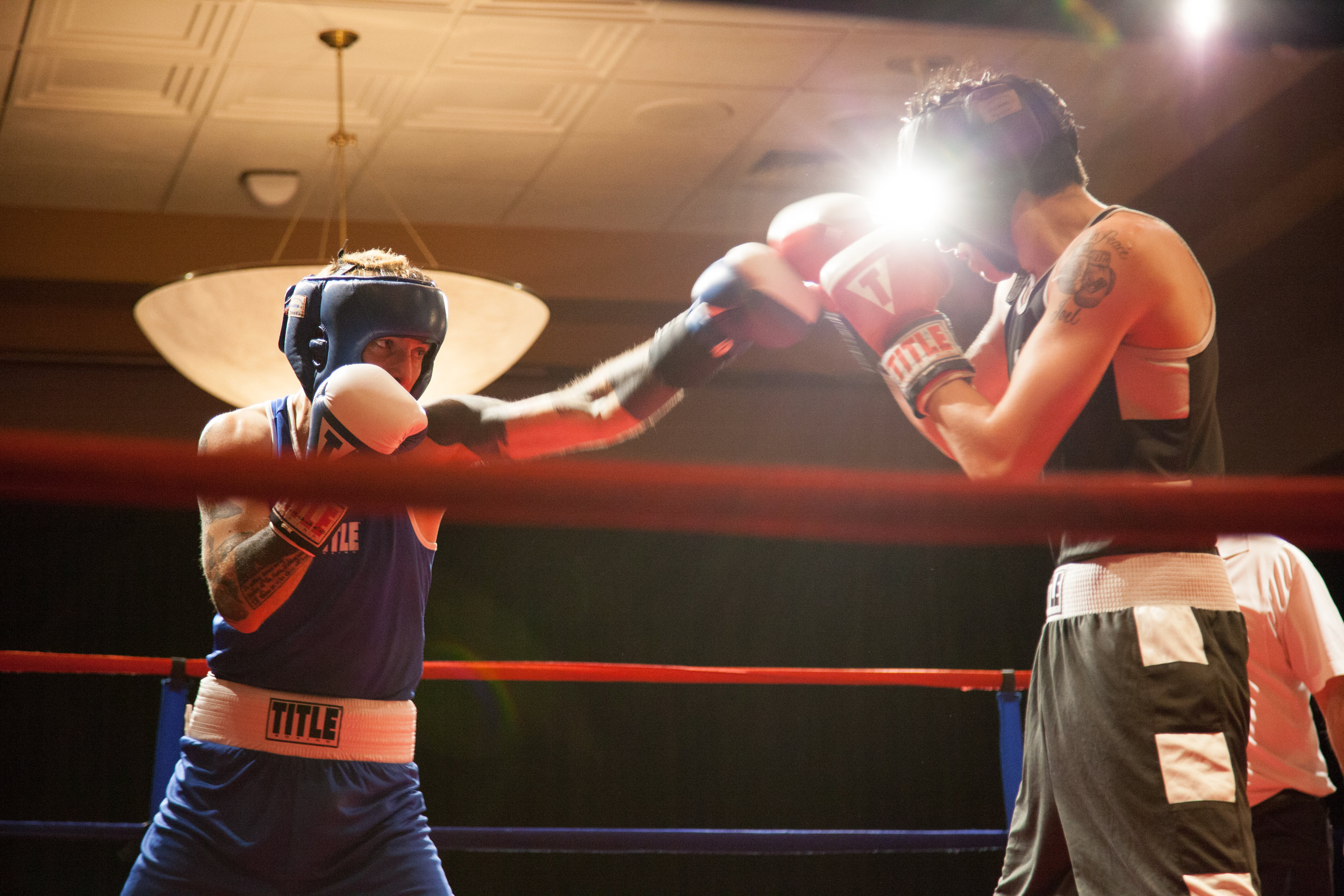 Photo I took of one of my teammates Jordan (in blue) in an amateur fight in Portland. Hopefully this will be me in 2017.