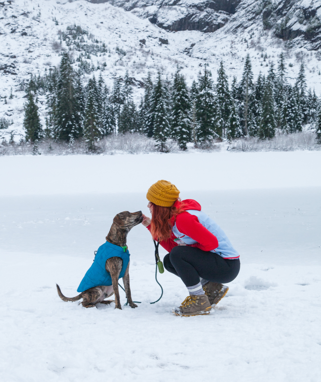 Heather Lake with Kuma