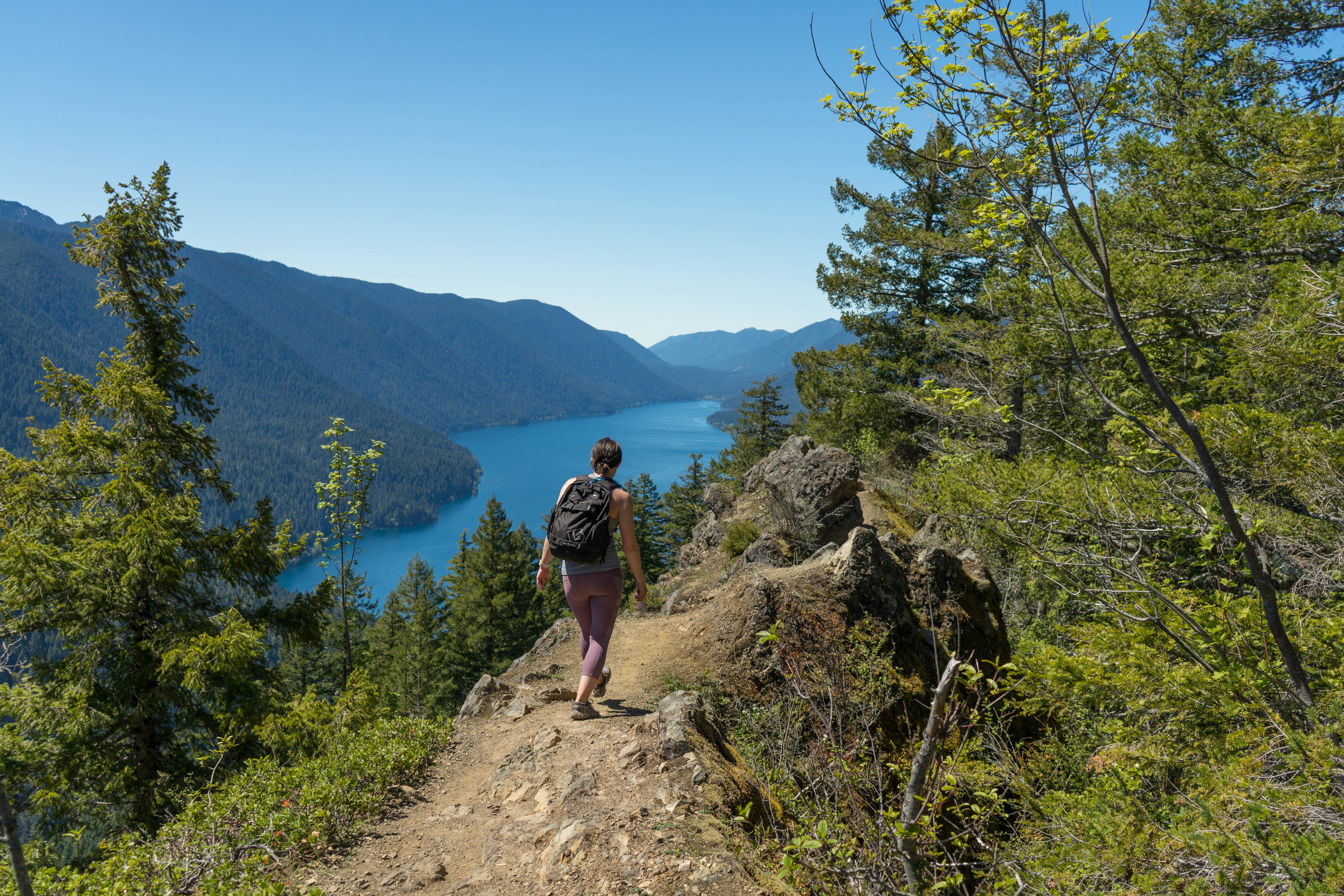 Get to hikes like this one on the Olympic Peninsula by utilizing car sharing services!