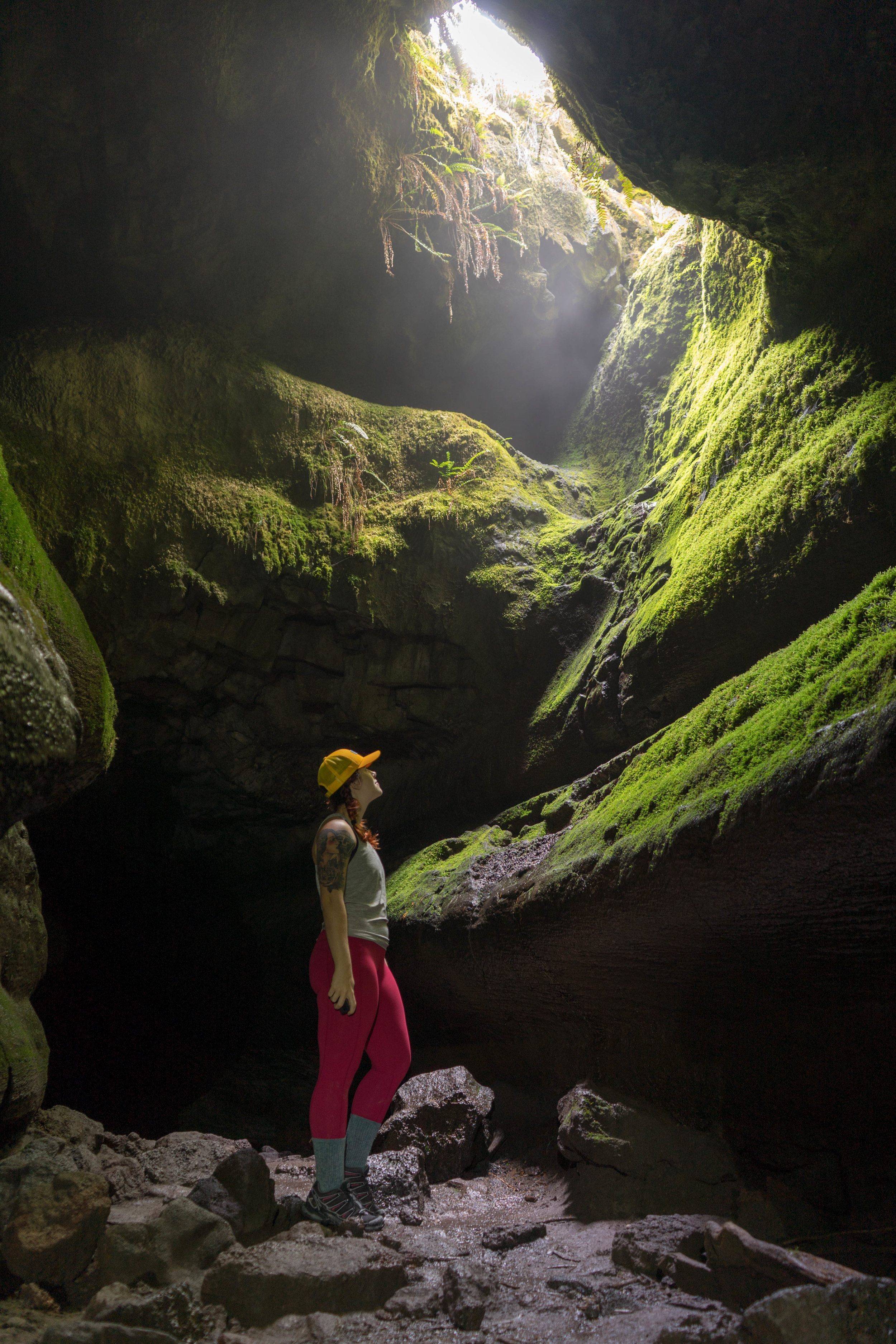 The upper Ape Cave trail is a must if you are in the area!