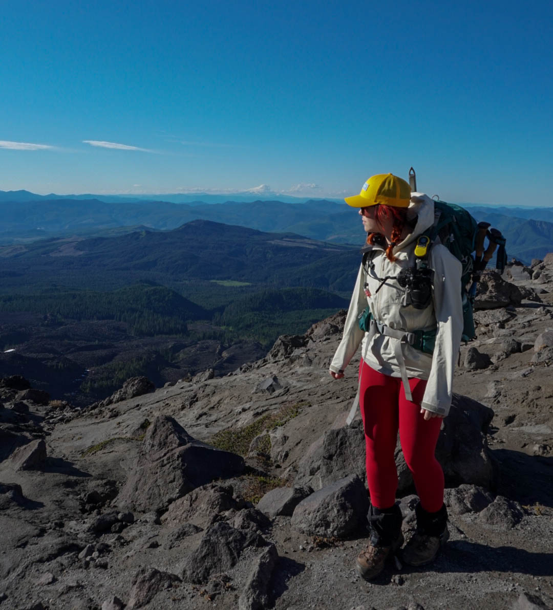 Photo from my first climb of Mount Saint Helens.