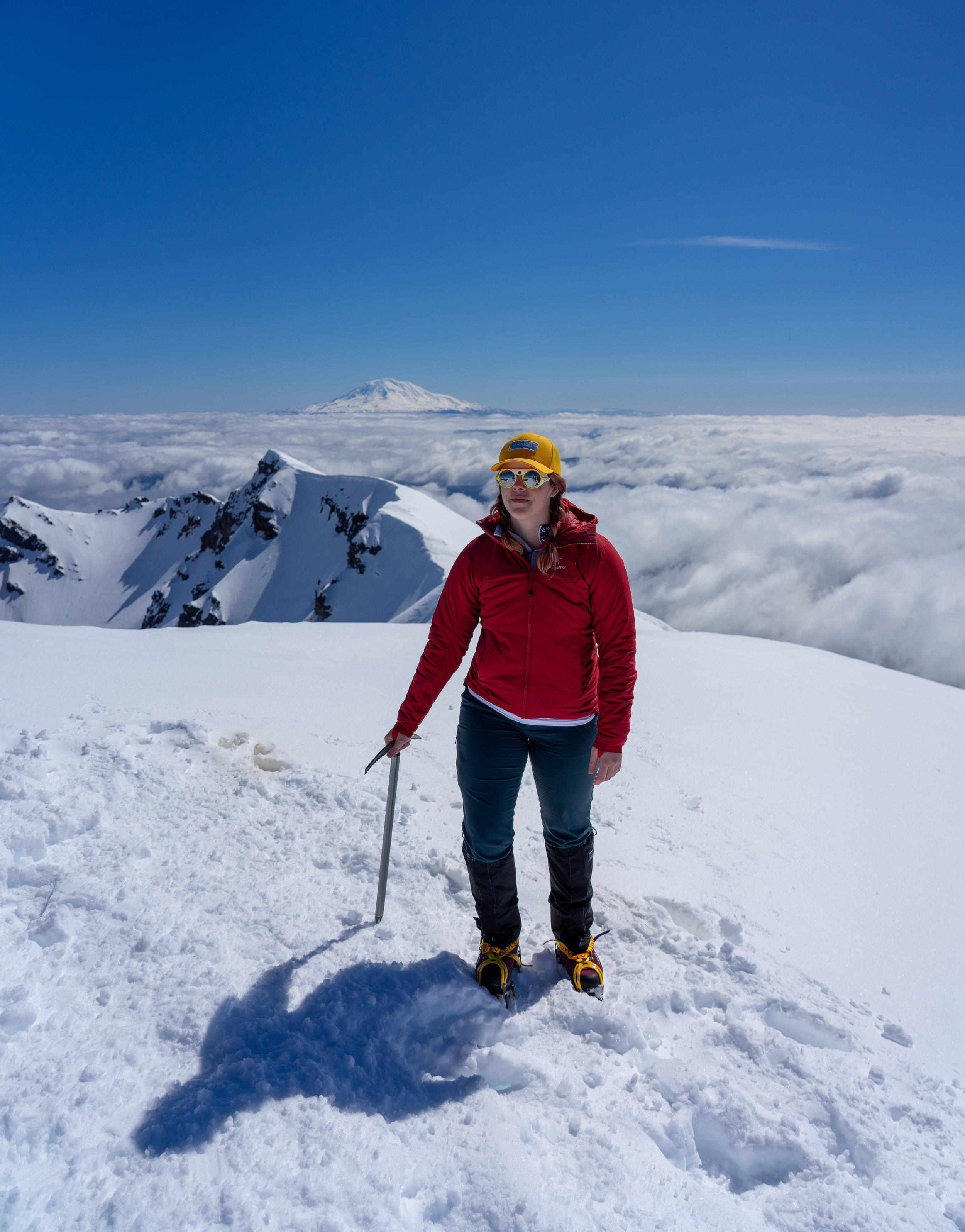 This time I had the skills, gear, and confidence to get to the summit without panicking.