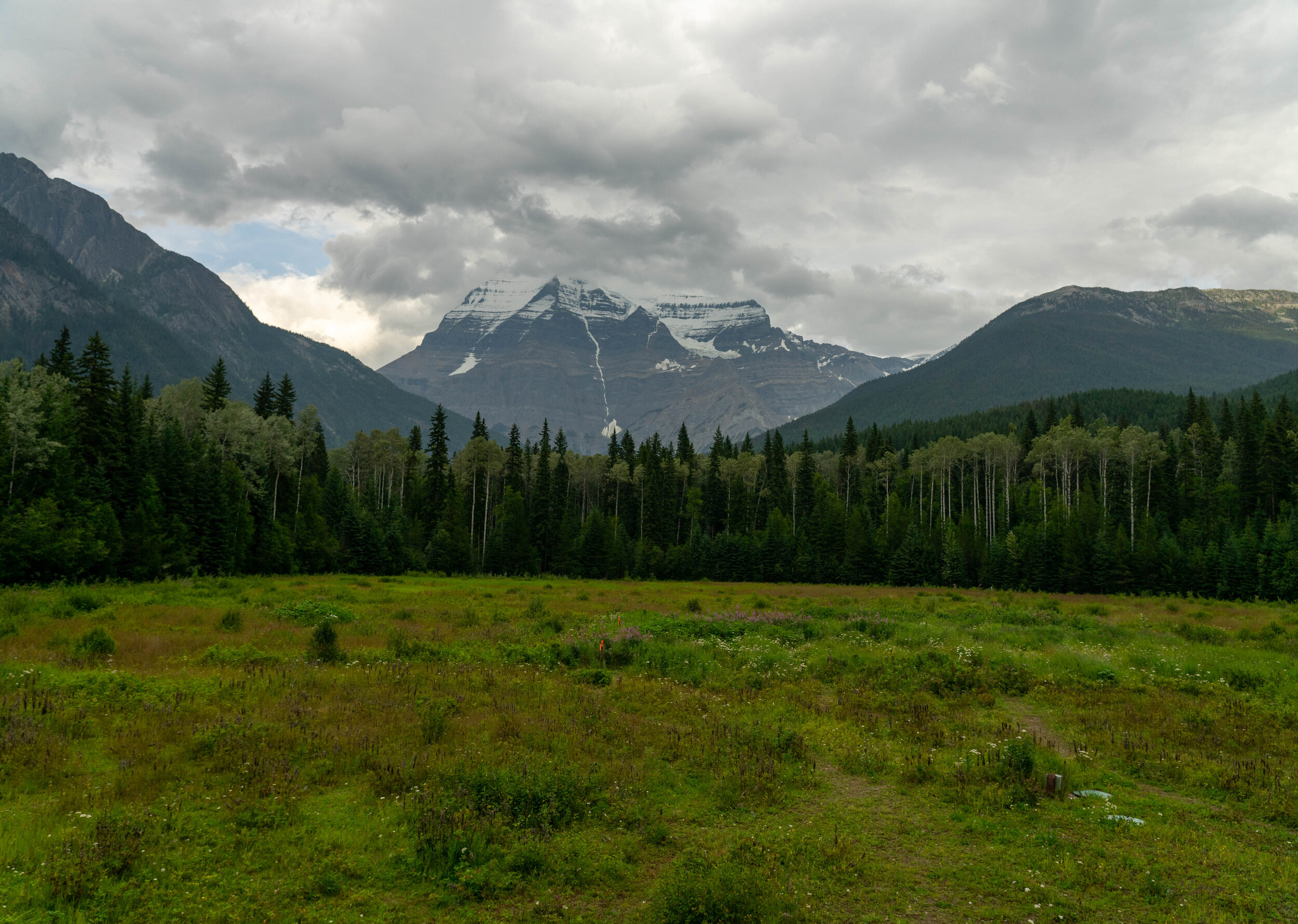 View from the Mount Robson Visitor Center.