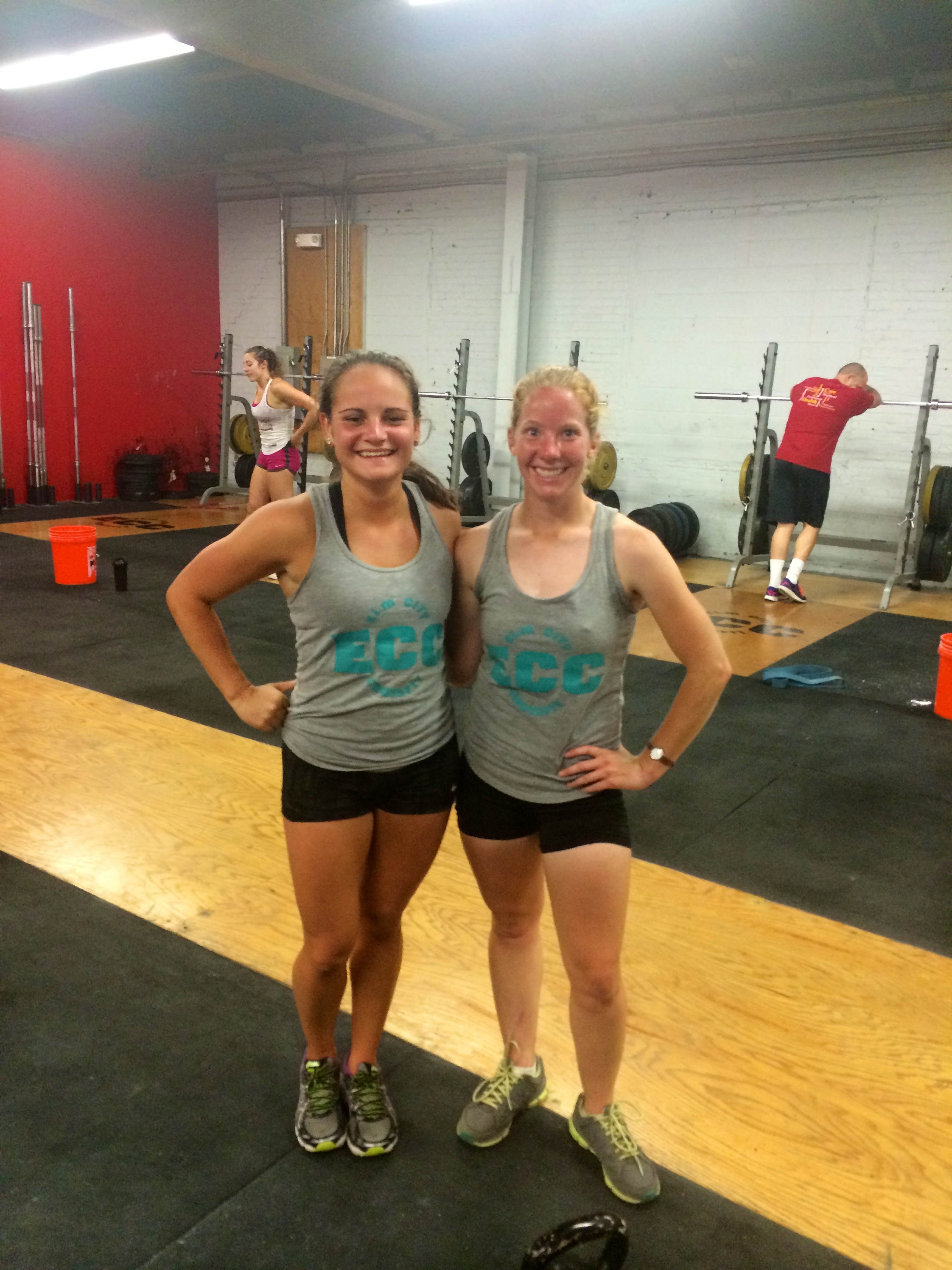 Katie and a Surprise visit from Carly! The Girls of Elm City CrossFit
