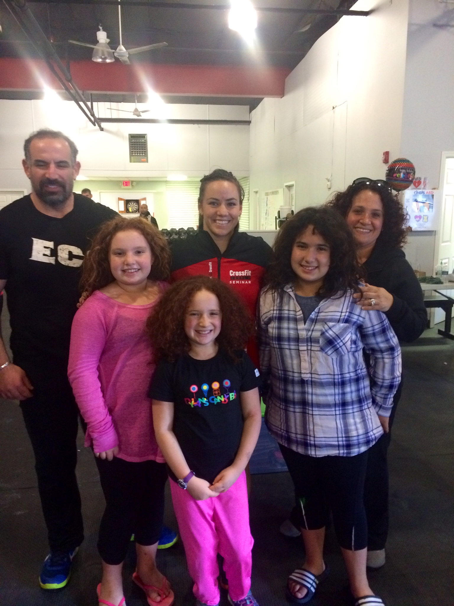 Fun weekend recertifying my CrossFit level 1 with Camille - CrossFit Champion 2014
