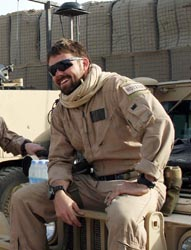 Marine Corps Sgt. Michael C. Roy, 25, of North Fort Myers, FL, assigned to the 3rd Marine Special Operations Battalion, Marine Special Operations Advisor Group, Marine Corps Forces Special Operations Command at Camp Lejeune, was killed in action on July 8th, 2009 in Nimroz Province, Afghanistan, while supporting combat operations. He is survived by his wife Amy and three children, Michael, Landon, and Olivia.