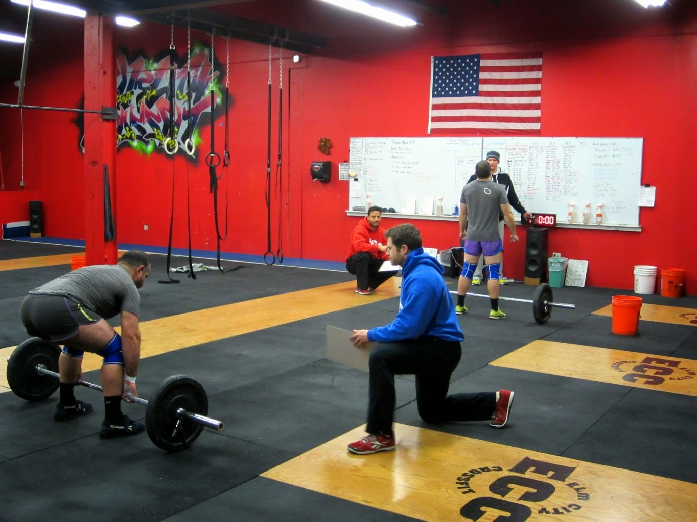 """Open 13.5 - The quiet before the storm! """"the worst workout ever invented"""" ~ Coach Mark"""