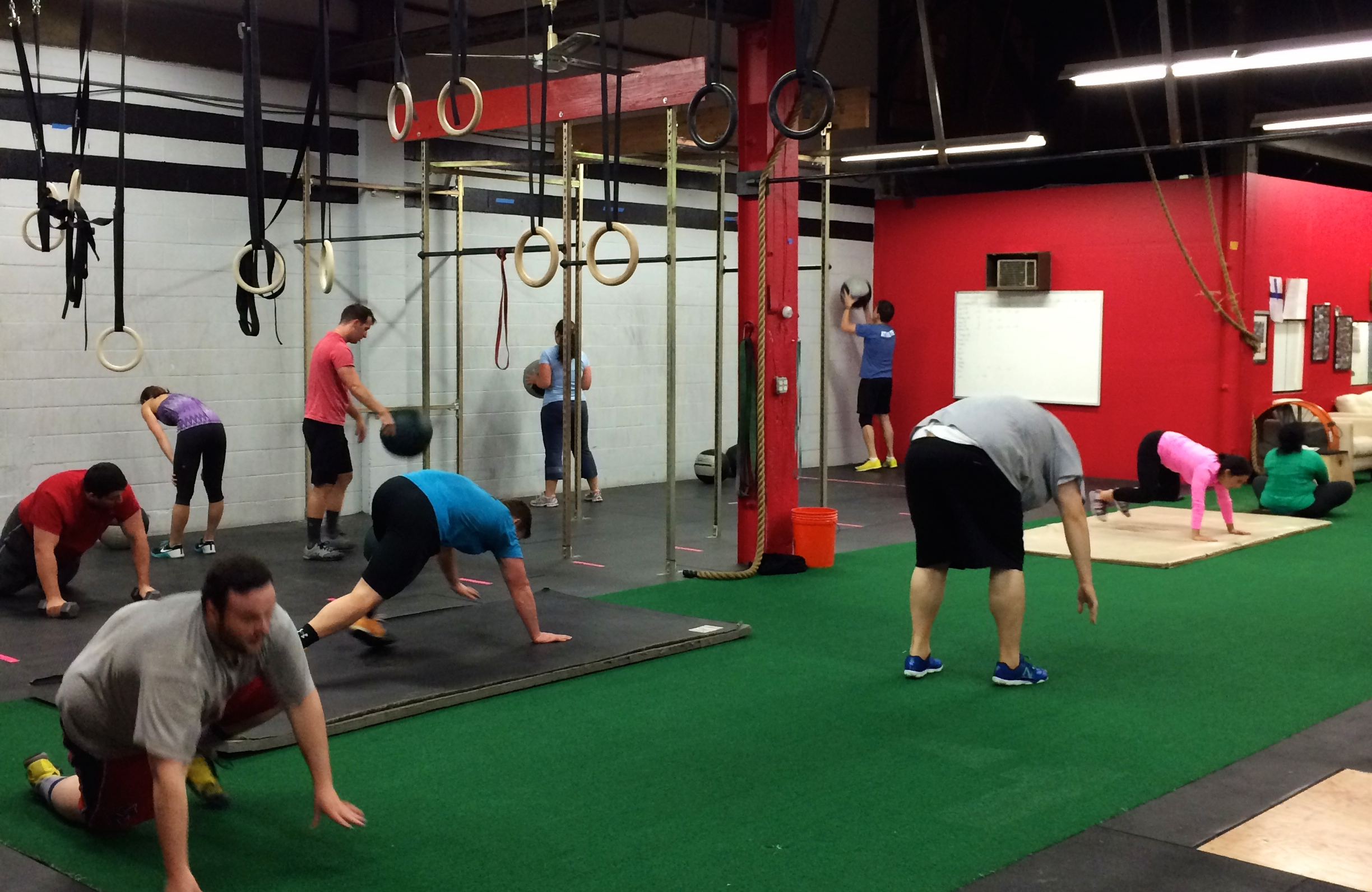 Packed house at the 630 class