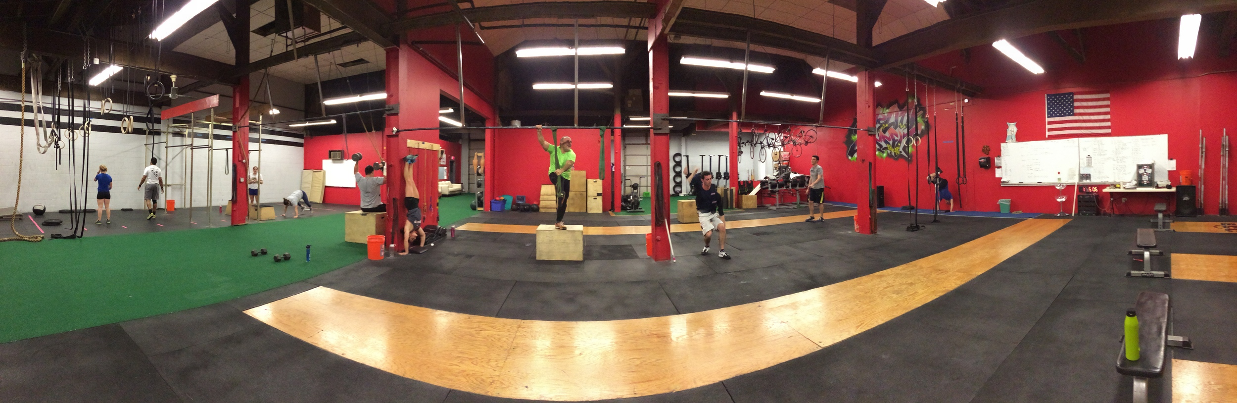 We are excited to announce we will be starting some construction this week! Dont mind our mess - the workouts must go on!