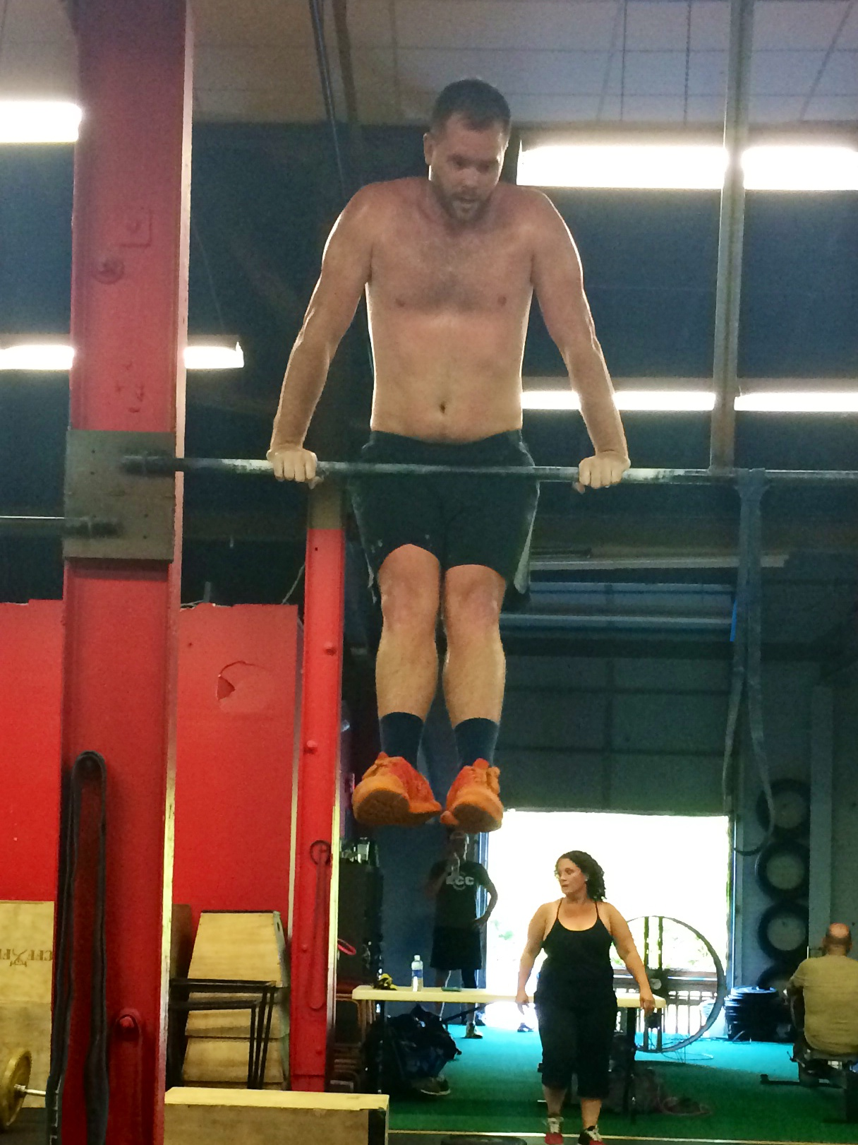 This workout is in honor of Will. This will be his last workout here at Elm City CrossFit. Will has been a huge part of our family and community for many years! We wish him good luck and success.