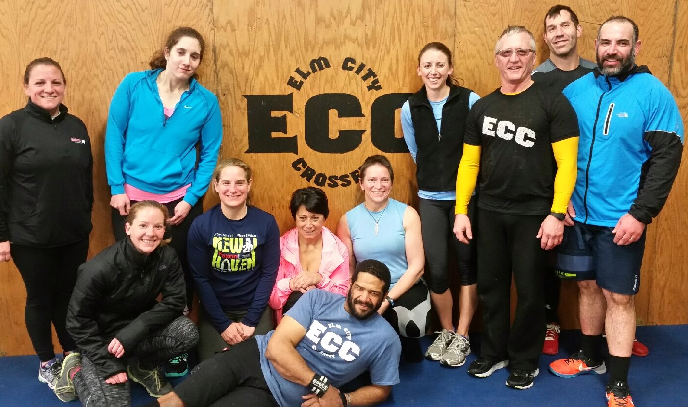 Our latest Sunday Funday Crew! A little weighted run with hill repeats before some benching.