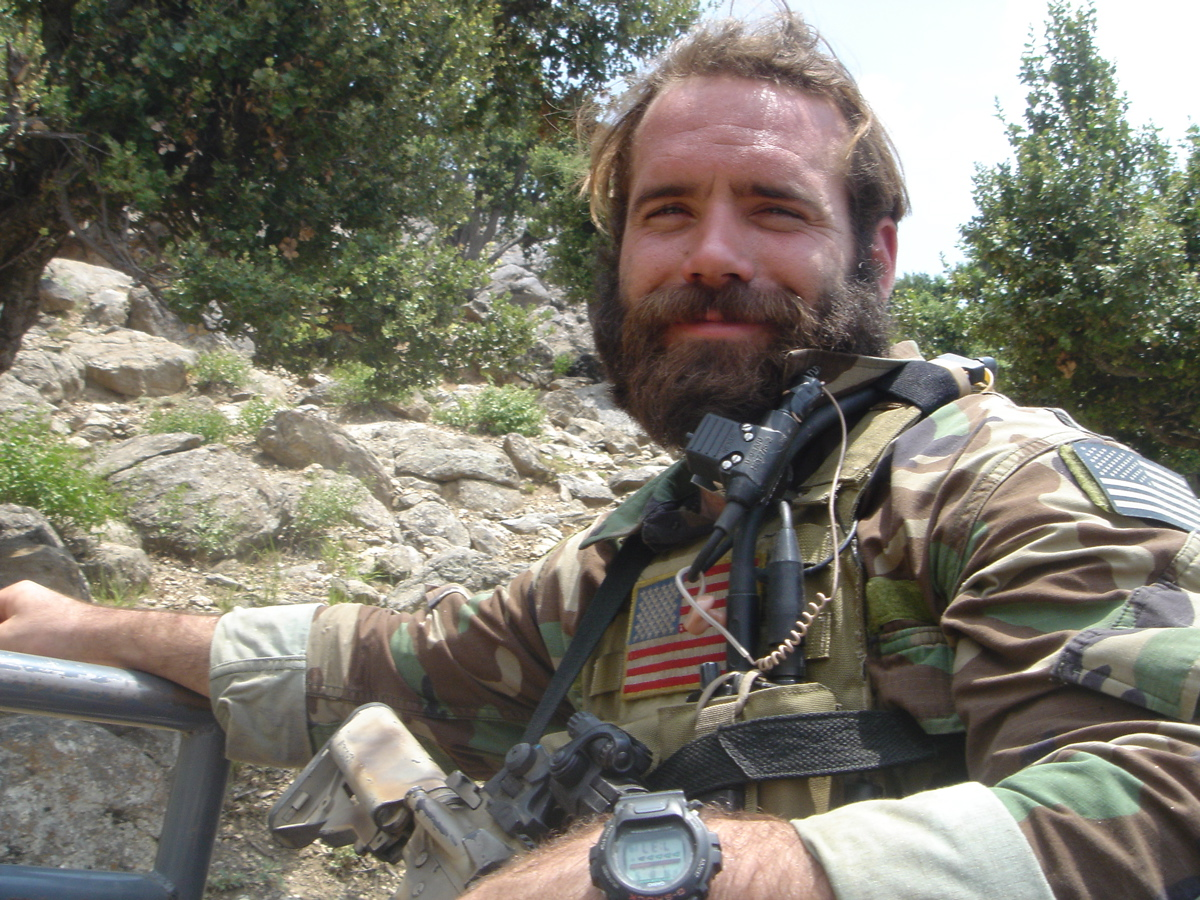 In honor of Navy Chief Petty Officer Mark Carter, 27, of Virginia Beach, VA who was killed in Iraq 11 December 2007.