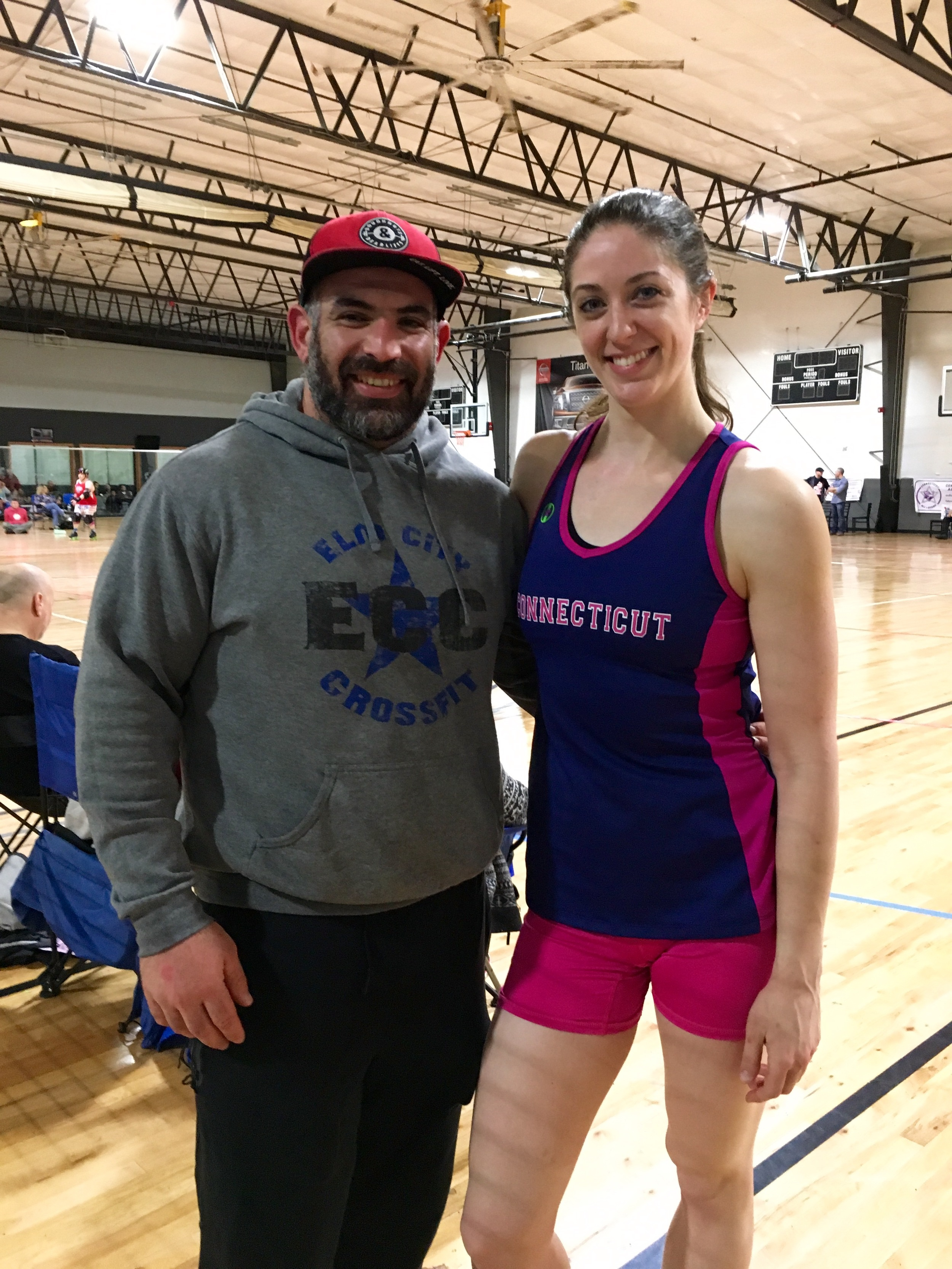 Elm City Supports our very own Heather better known as Sinin Sonic in CT Roller Derby Allstars