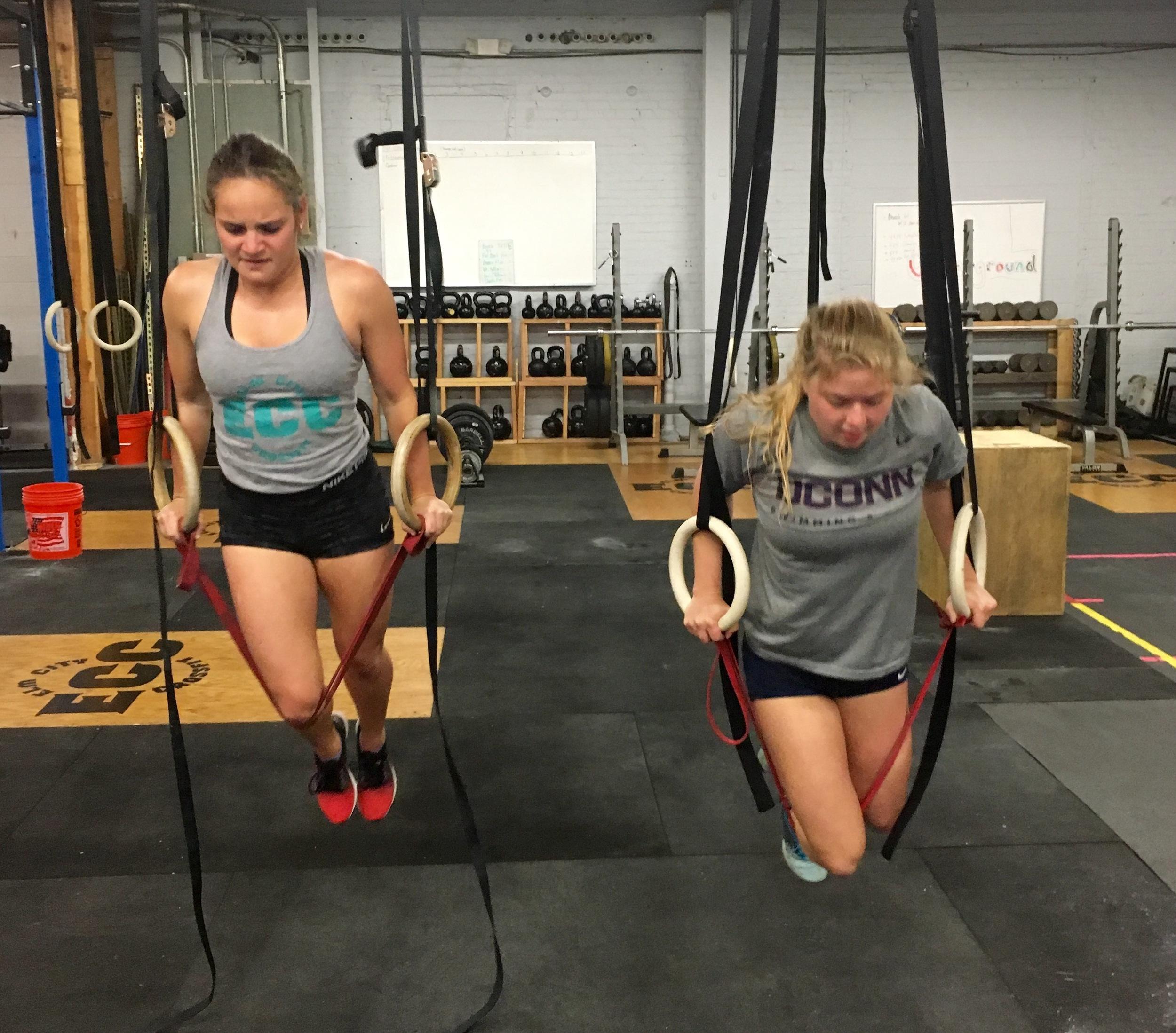 Amanda and Carly