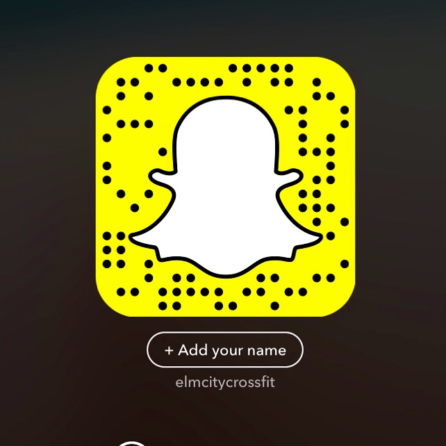 Yep that's right! Follow us on Snap Chat!