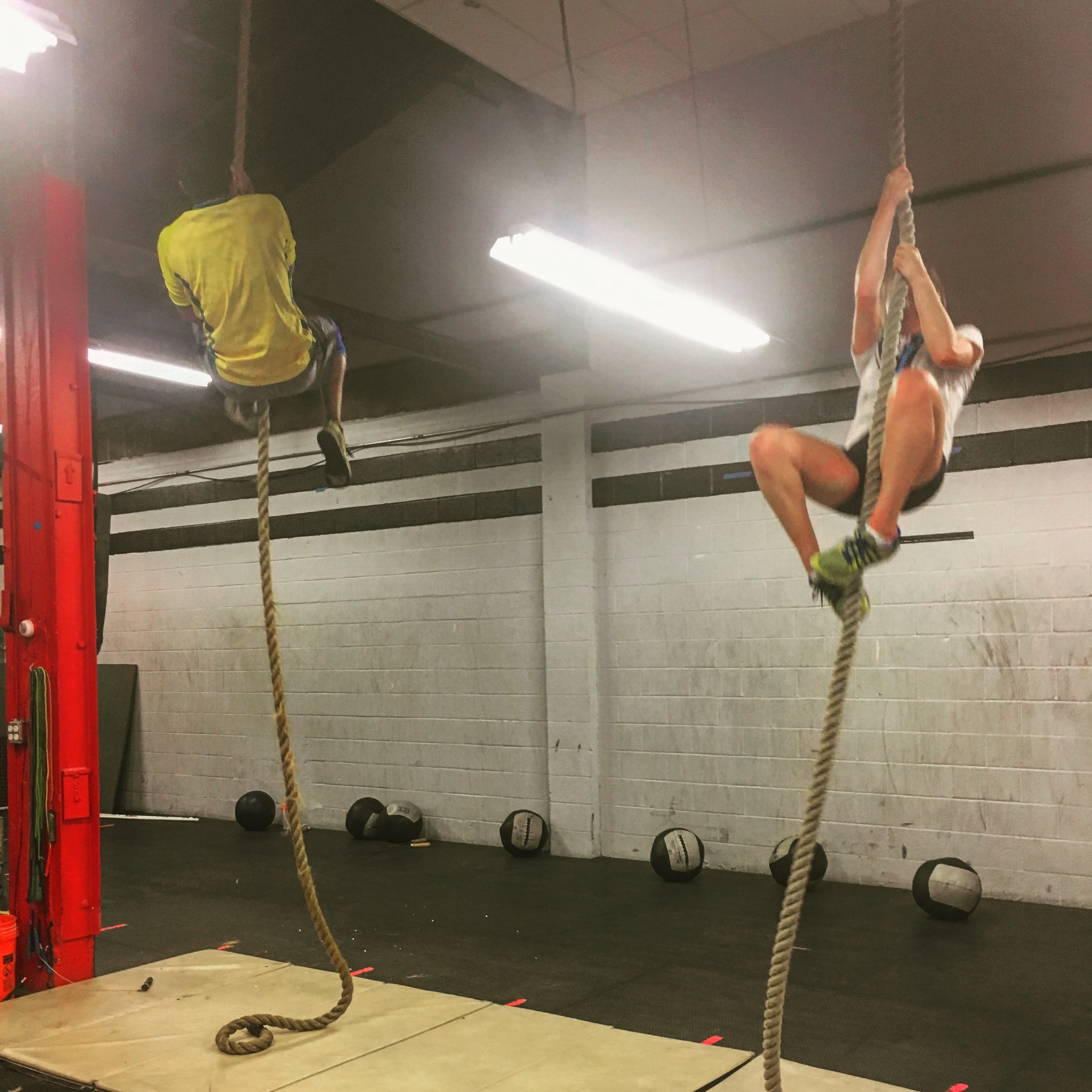 Melanie and Sir Michael flying high at the 530 class