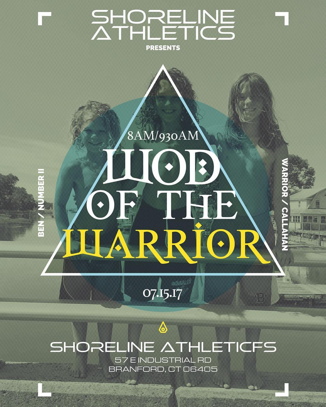 Elm City CrossFit will run the WOD for the Warrior!