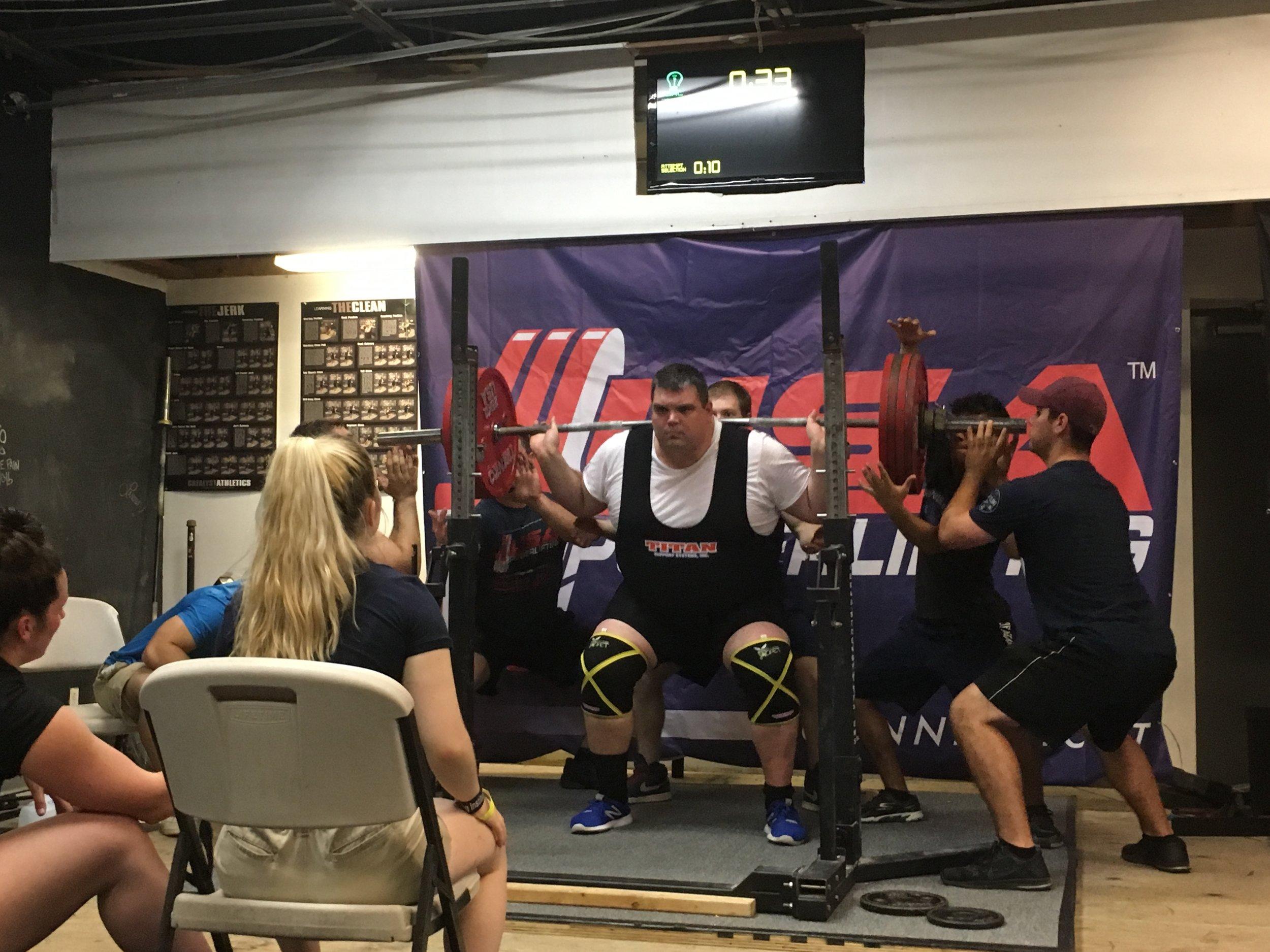 Elm City CrossFit's Powerlifter ~ Joe Ryan!