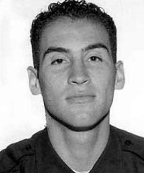 """This Firefighter Hero WOD is dedicated to Michael """"Manny"""" Del Valle Jr., FDNY, Engine 5, who was killed on September 11, 2001. Manny climbed the stairs of the burning North Tower at the World Trade Center. He hasn't been seen since."""