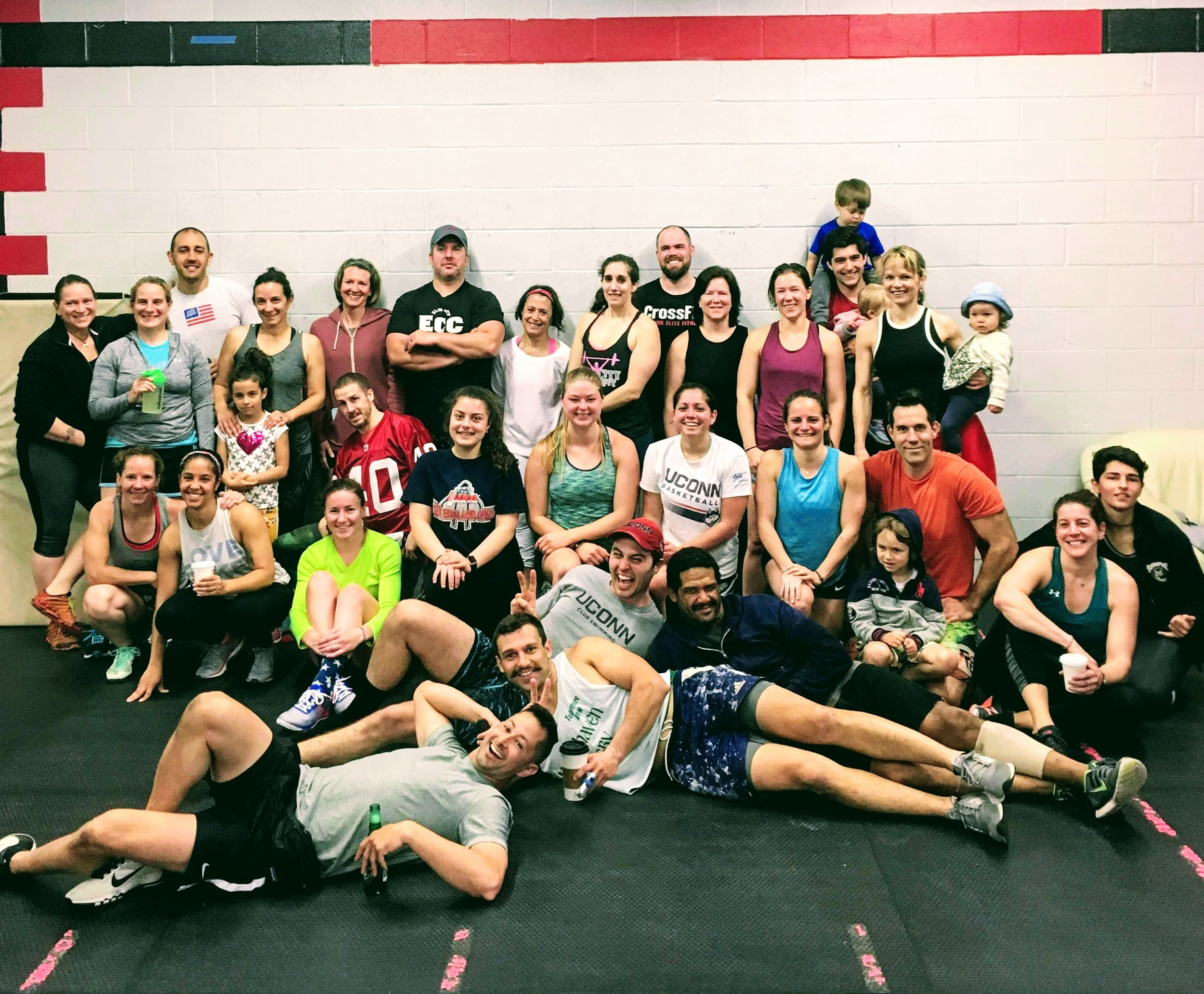 "Congratulations to all of the athletes and supporters who joined us for a special Memorial Day ""Murph"" workout yesterday!  YOU make ECC the incredible community that it is!"