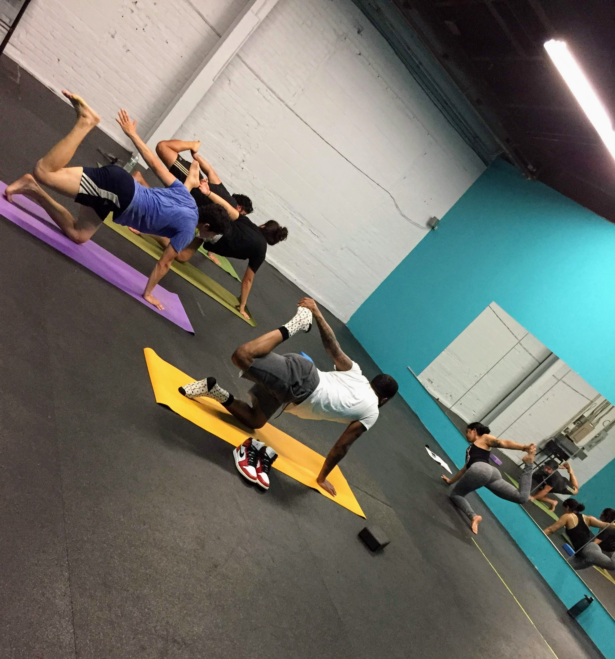 Have you checked out Xan's free Community Yoga class on Sundays at 9:00am?  Check the white board for details and get your flex(ibility) on!