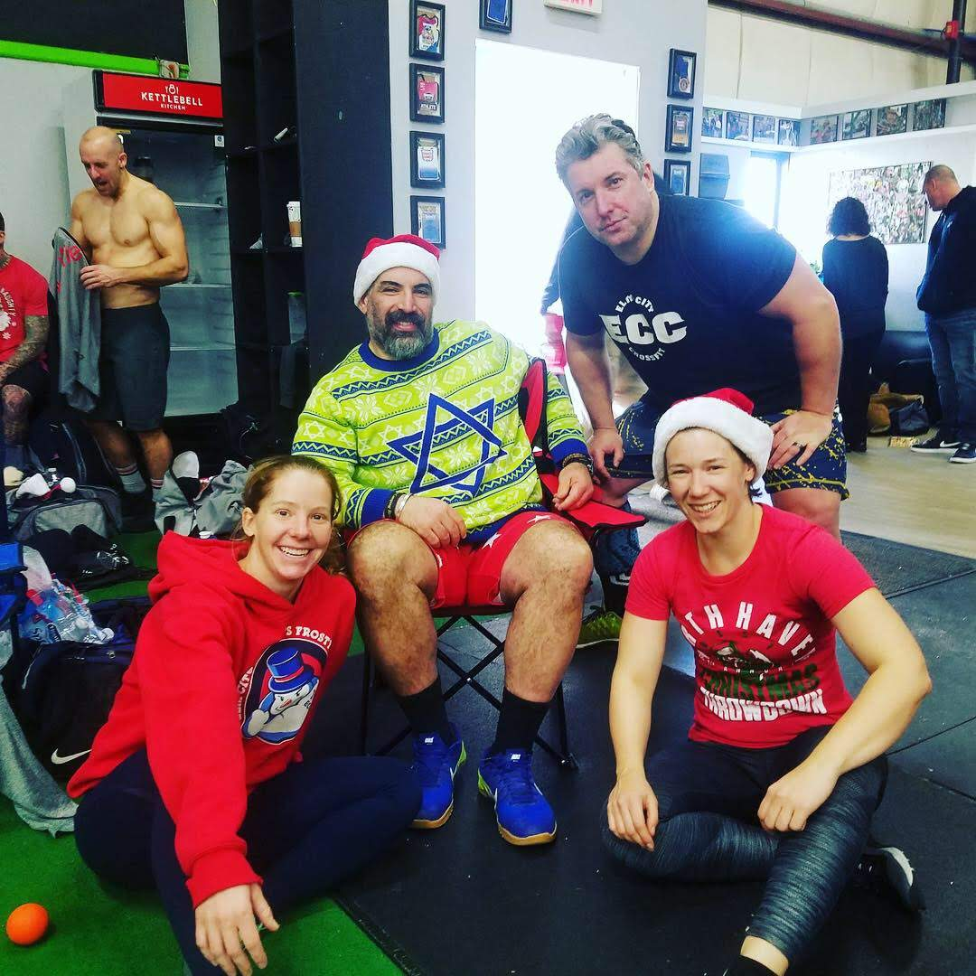 ECC representing at the North Haven Christmas Throwdown last weekend!