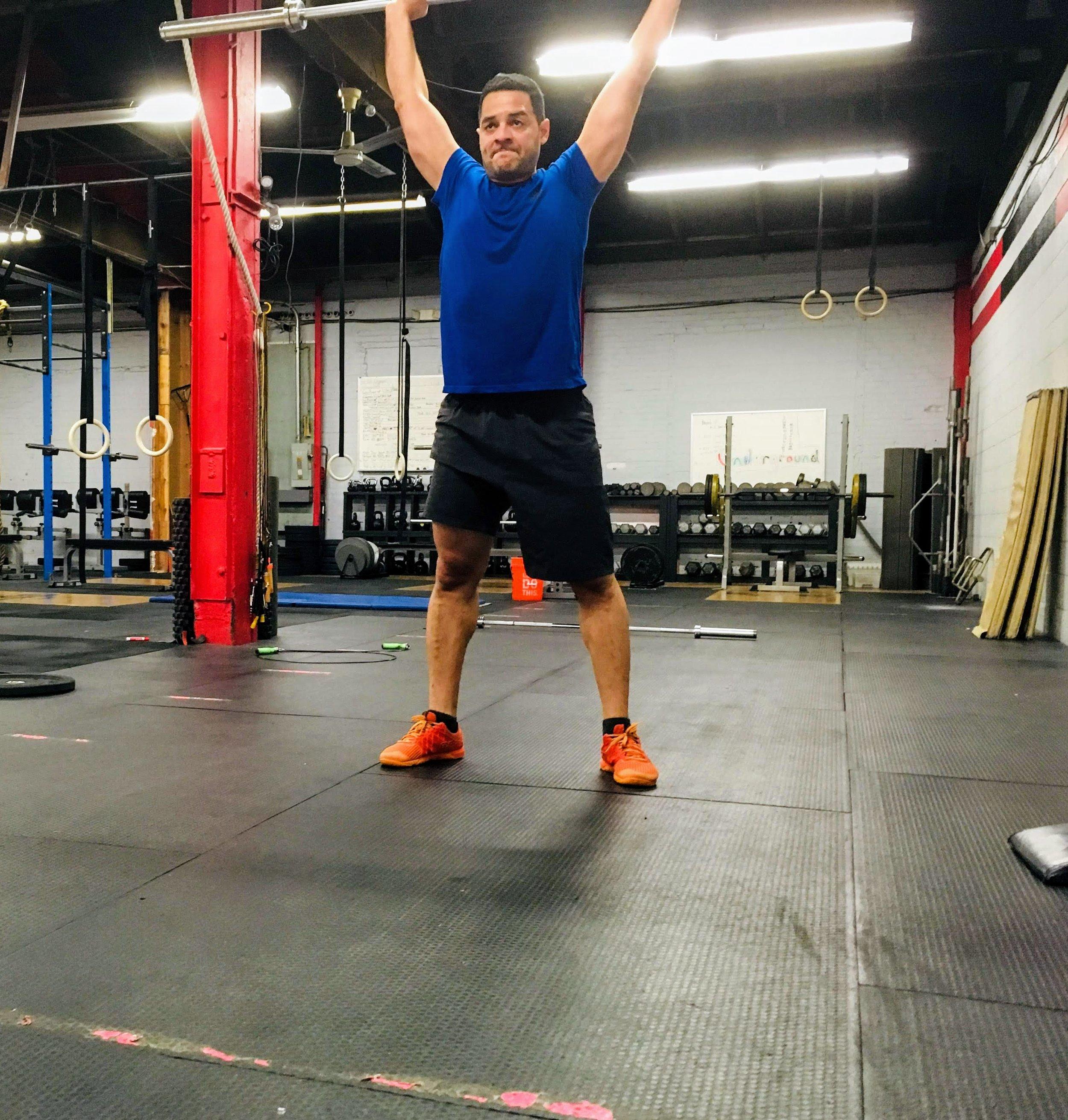 "Wilfredo showing determination during ""Culbreth"" on Saturday"