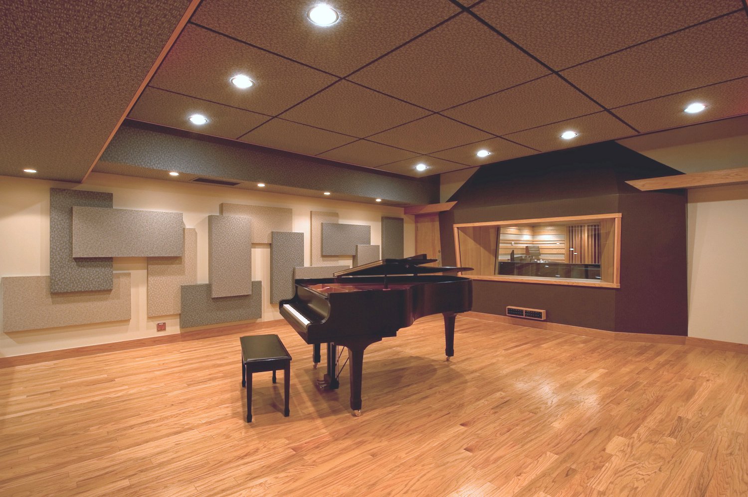 Studio A   Designed for any genre, any project   Book your next session