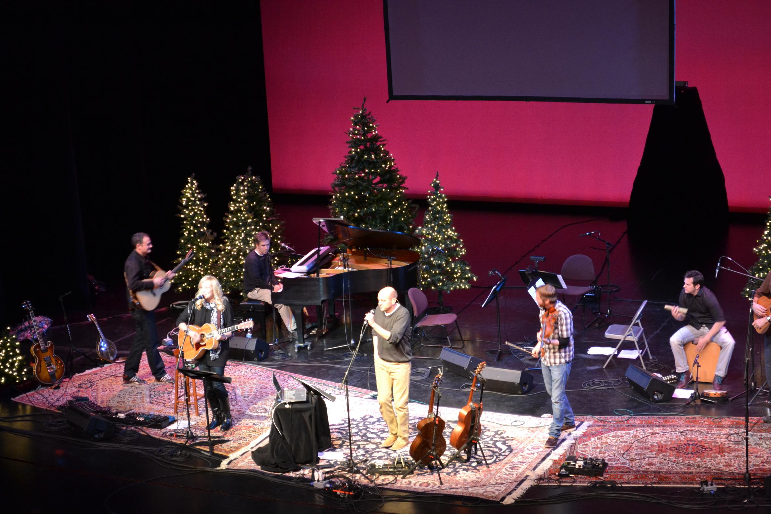 Peter Breinholt Christmas Concert 2013.