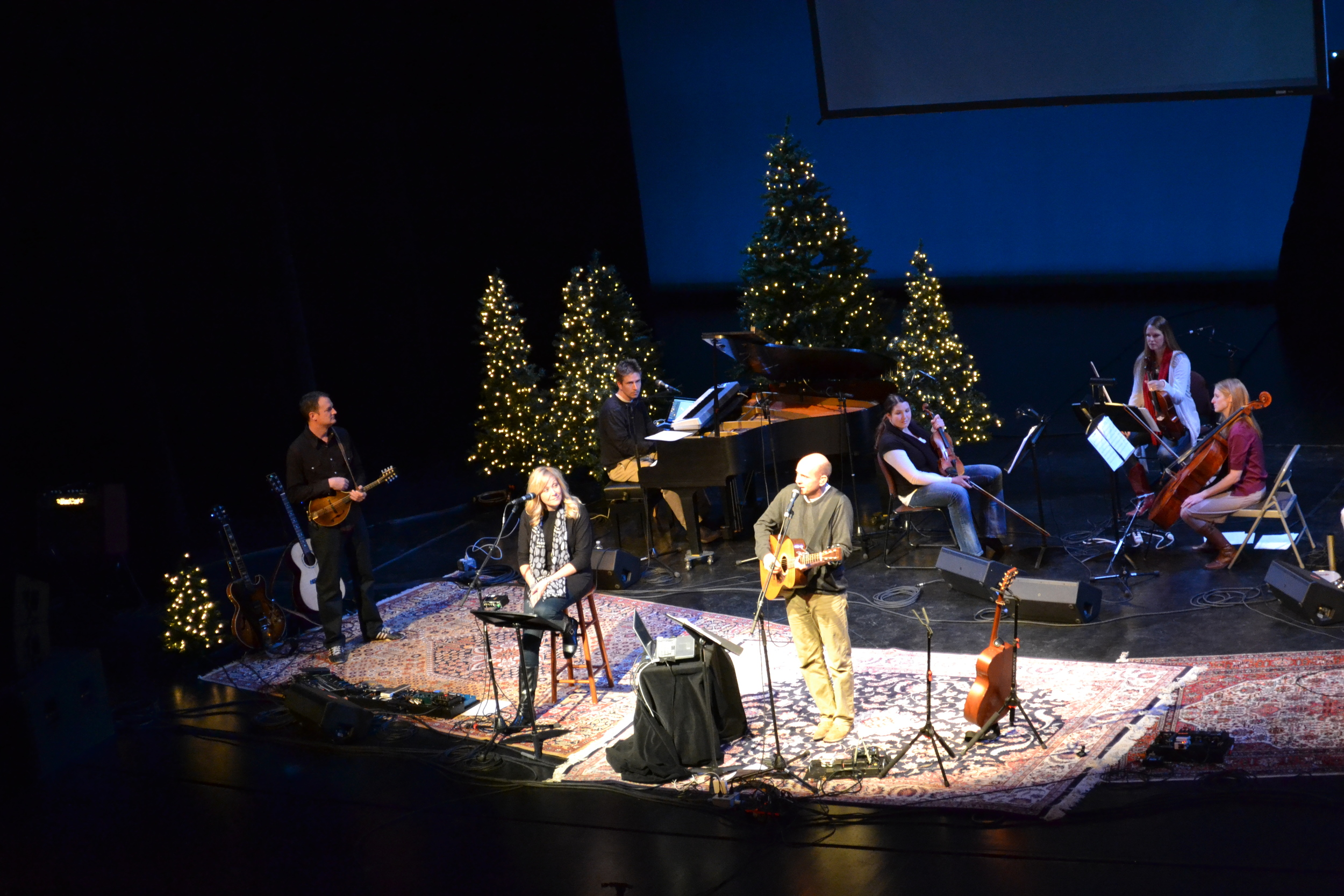 Peter Breinholt Christmas Concert 2013